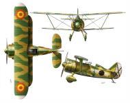 Asisbiz EdA Polikarpov I 15bis Grupo 24 2Wx16 Spain 0A