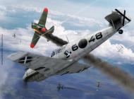 Asisbiz Messerschmitt Bf 109C1 2.J88 Condor Legion 6x48 dog fight over Valencia Osprey art 0A