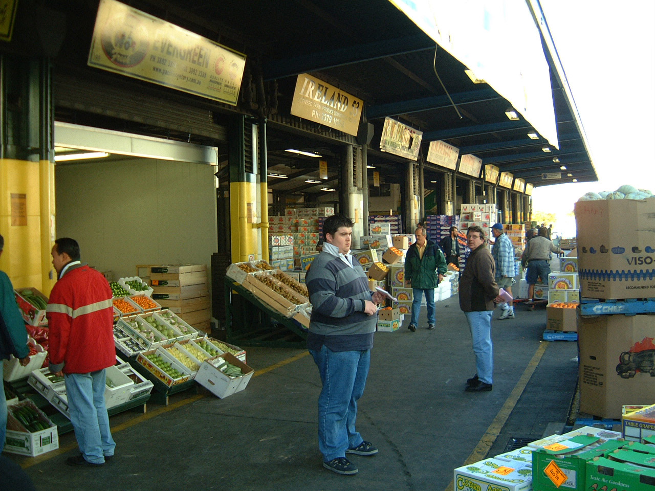 Brisbane Markets Sherwood Road Rocklea Queensland 4106 Jun 2002 I02