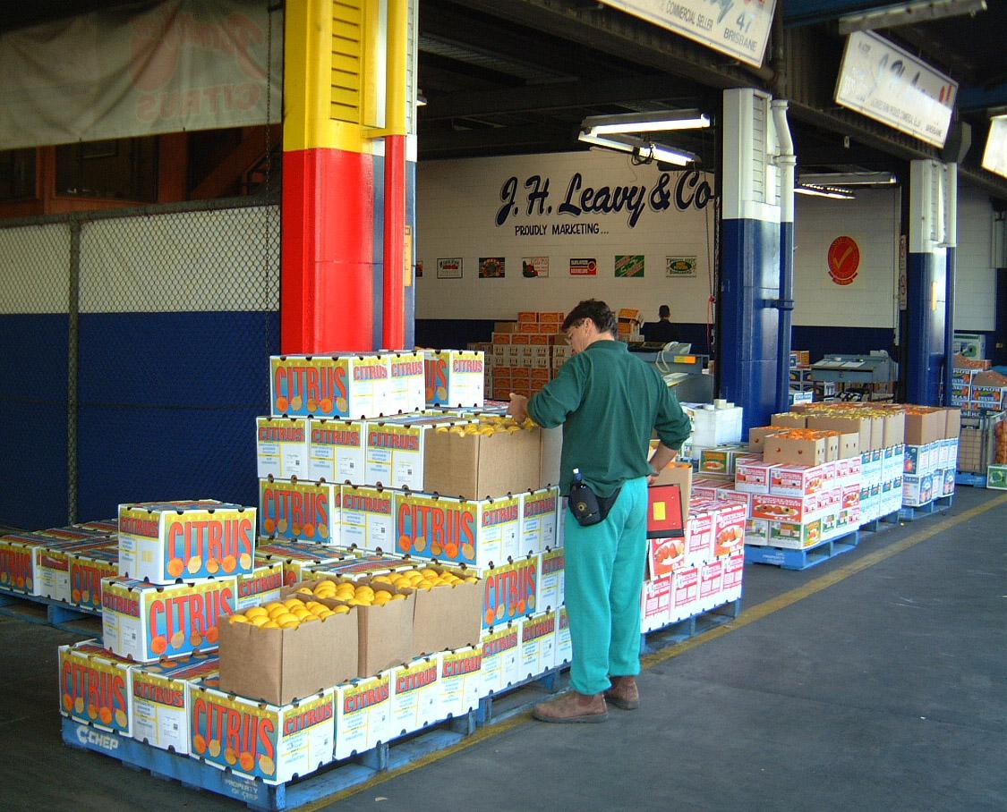 Brisbane Markets Sherwood Road Rocklea Queensland 4106 Jun 2002 I19