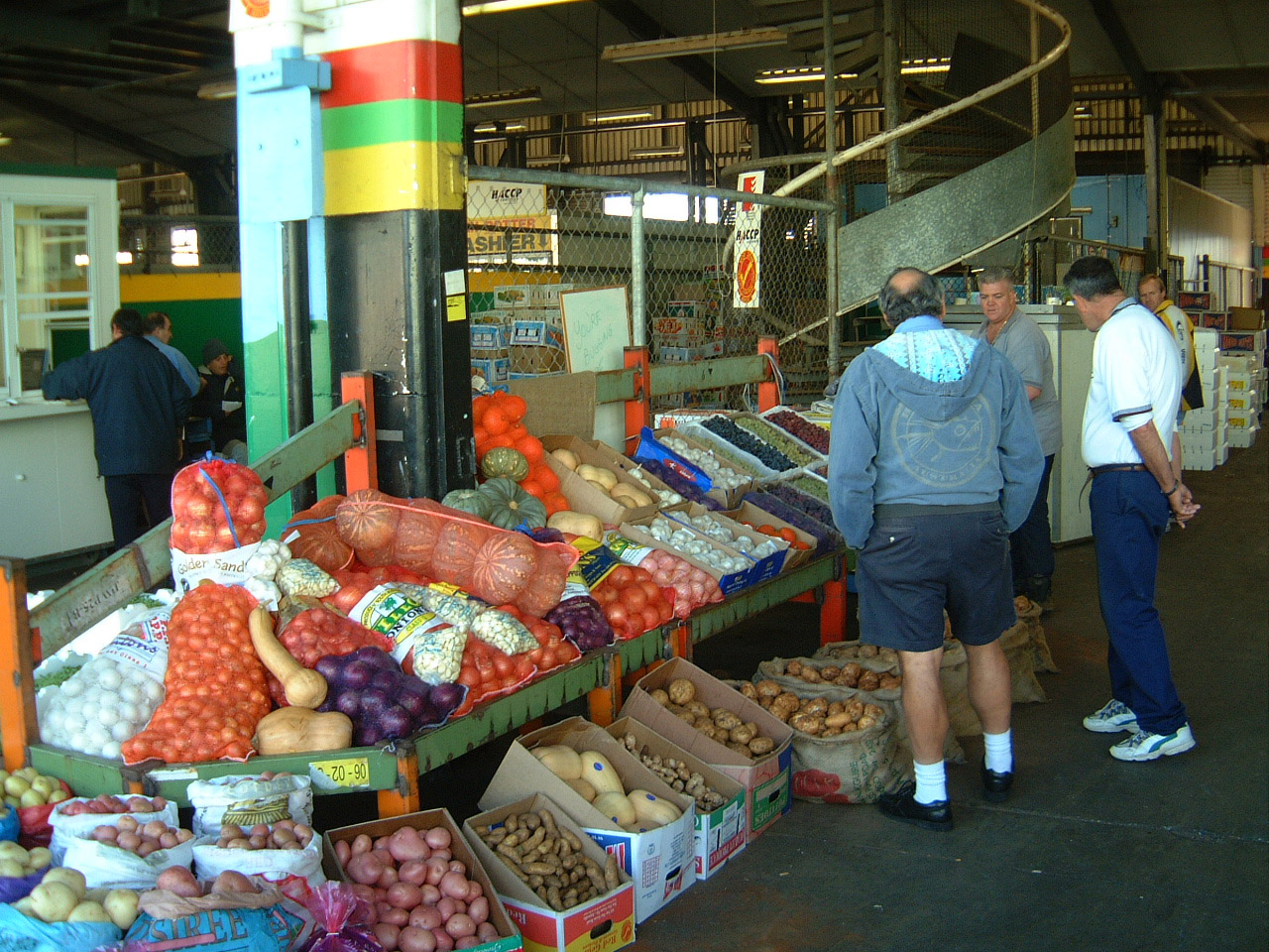 Brisbane Markets Sherwood Road Rocklea Queensland 4106 Jun 2002 I23