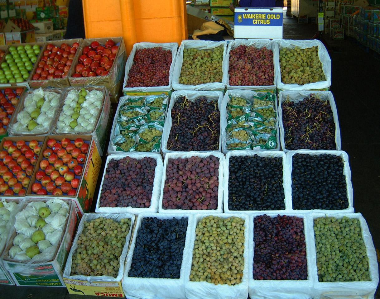 Brisbane Markets Sherwood Road Rocklea Queensland 4106 grapes I03