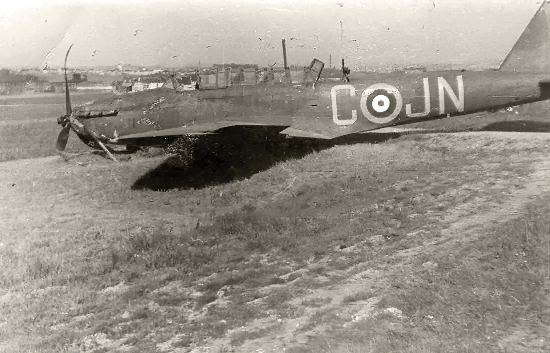 Fairey Battle RAF 150Sqn JNC force landed during France May Jun 1940 01
