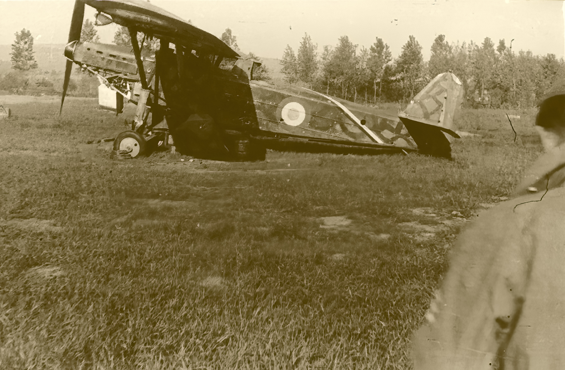 French Airforce ANF Les Mureaux 117 grounded at a French airbase France 1940 ebay 01