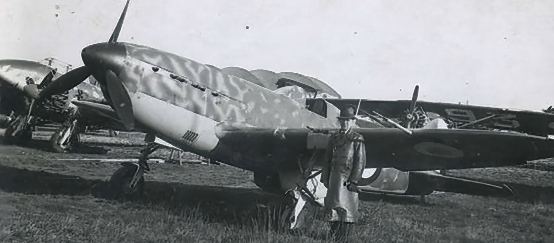 French Airforce Arsenal VG 33 sits abandoned after the fall of France June 1940 ebay 02