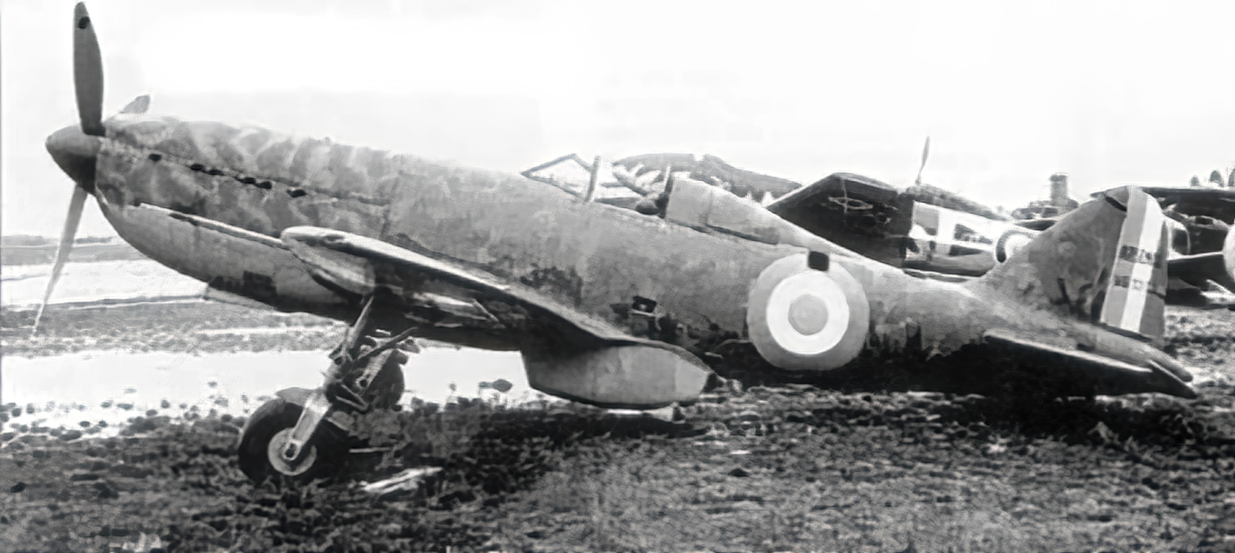 French Airforce Arsenal VG 33 sits abandoned after the fall of France June 1940 ebay 03