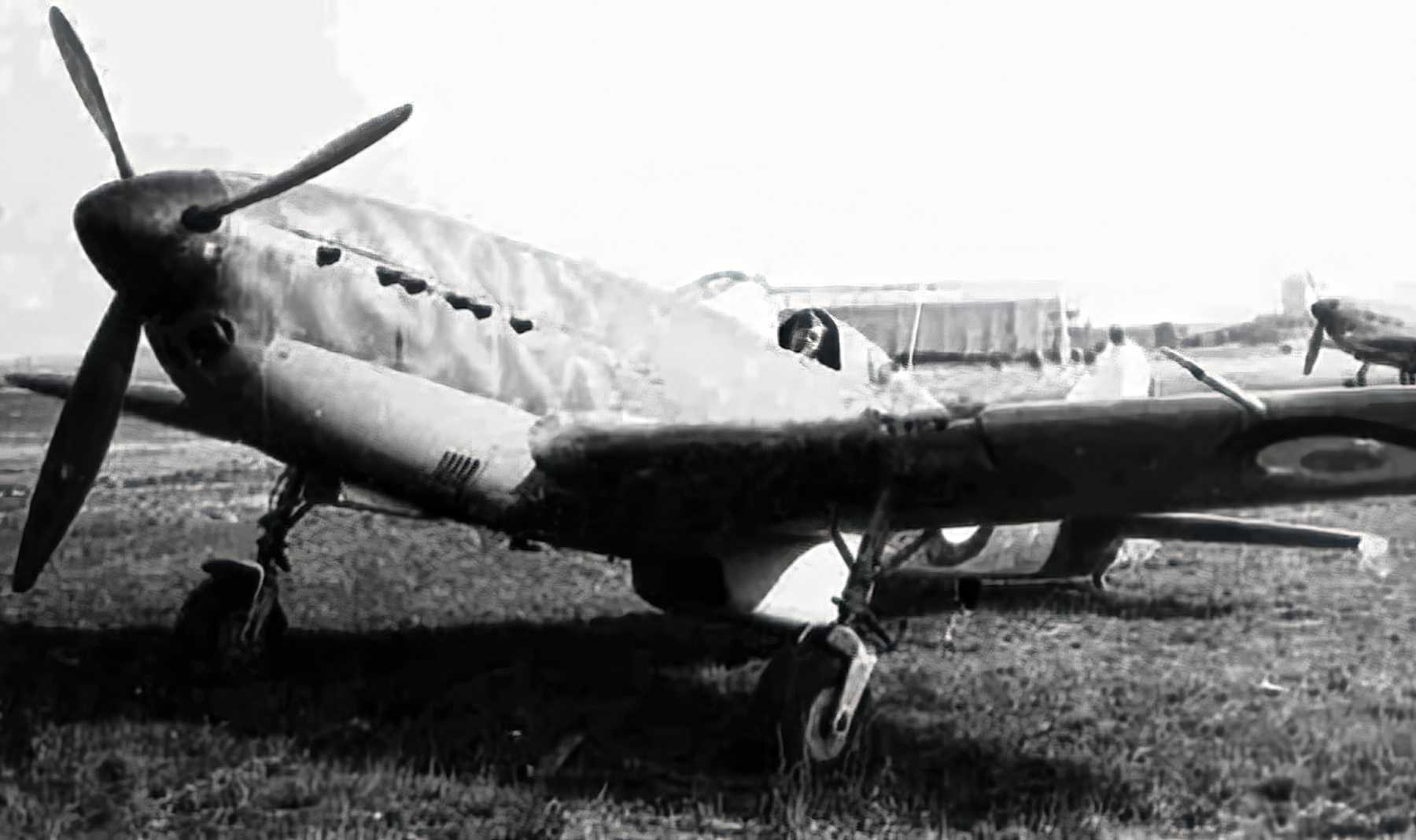 French Airforce Arsenal VG 33 sits abandoned after the fall of France June 1940 ebay 05