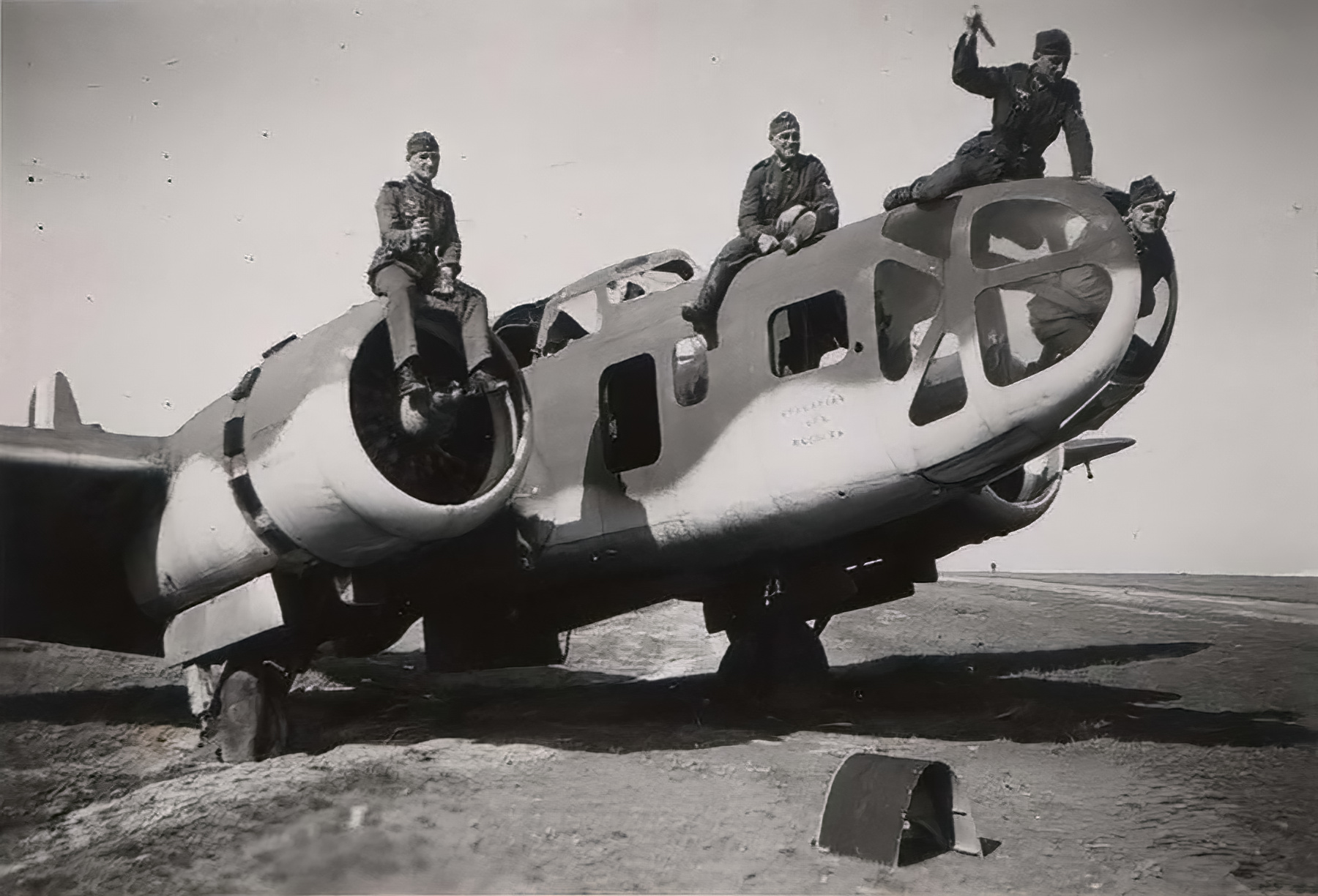 French Airforce Bloch MB 131 abandoned at Nevers after the fall of France May Jun 1940 ebay 01