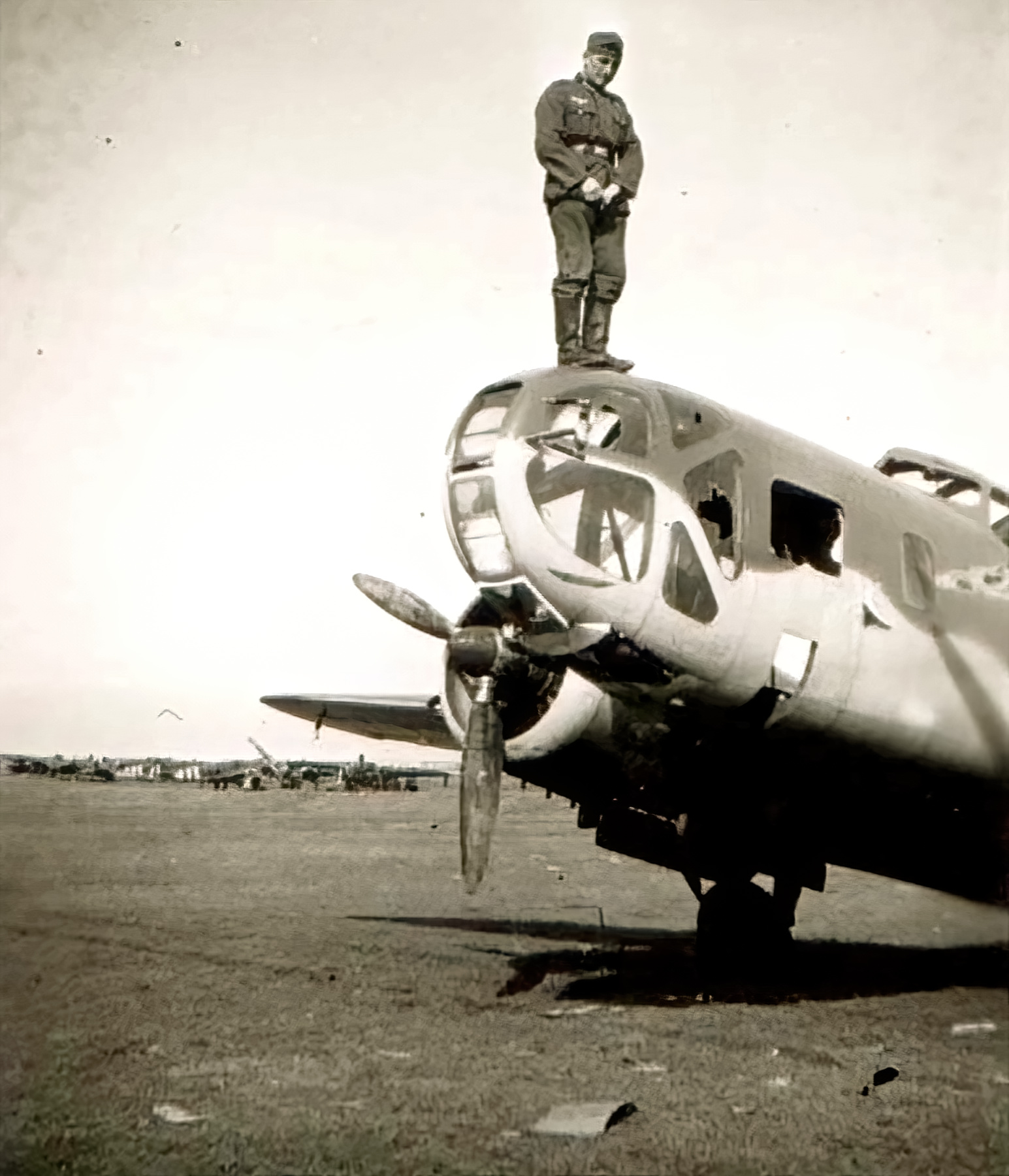 French Airforce Bloch MB 131 abandoned at Nevers after the fall of France May Jun 1940 ebay 02