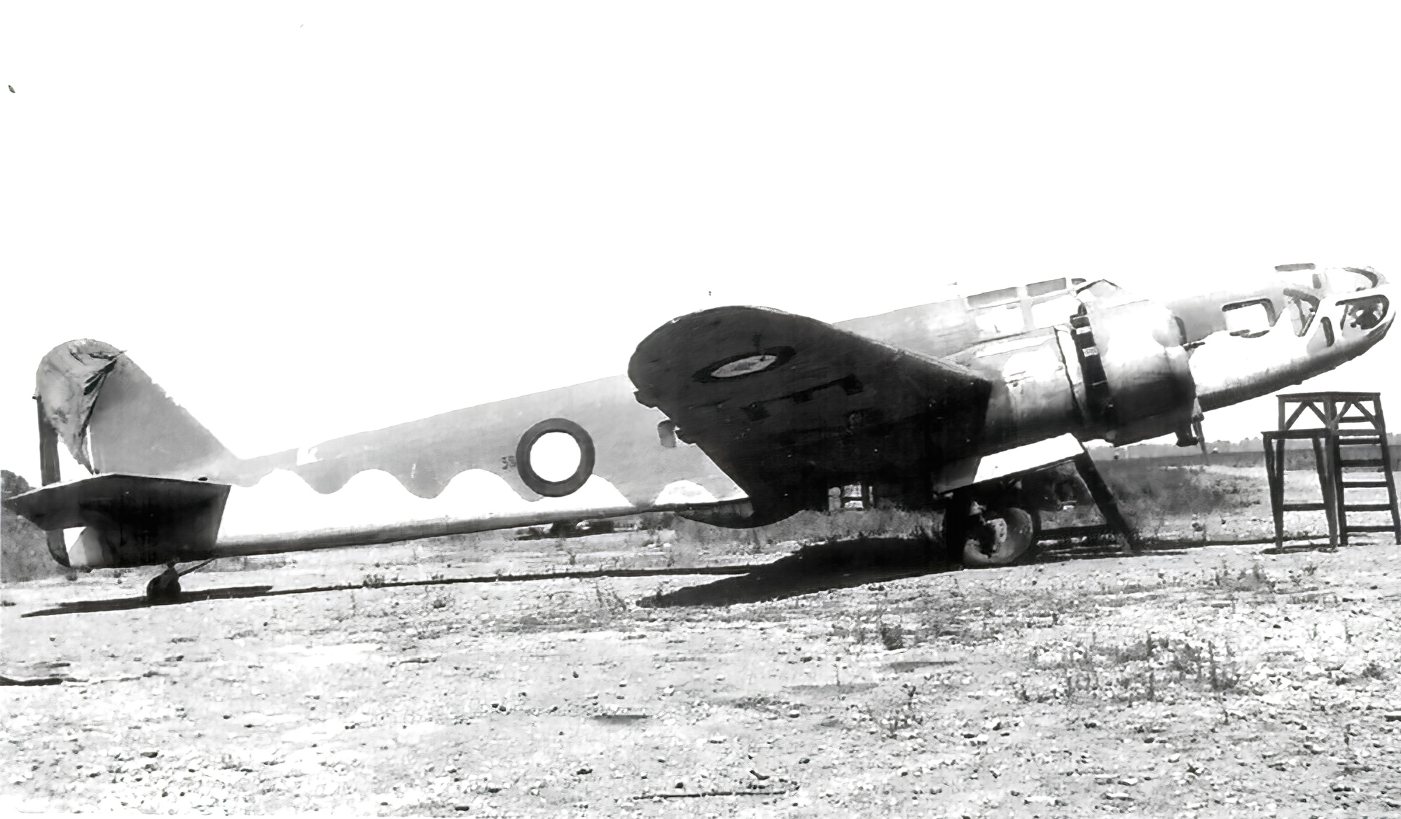 French Airforce Bloch MB 131 captured after the fall of France June 1940 ebay 01