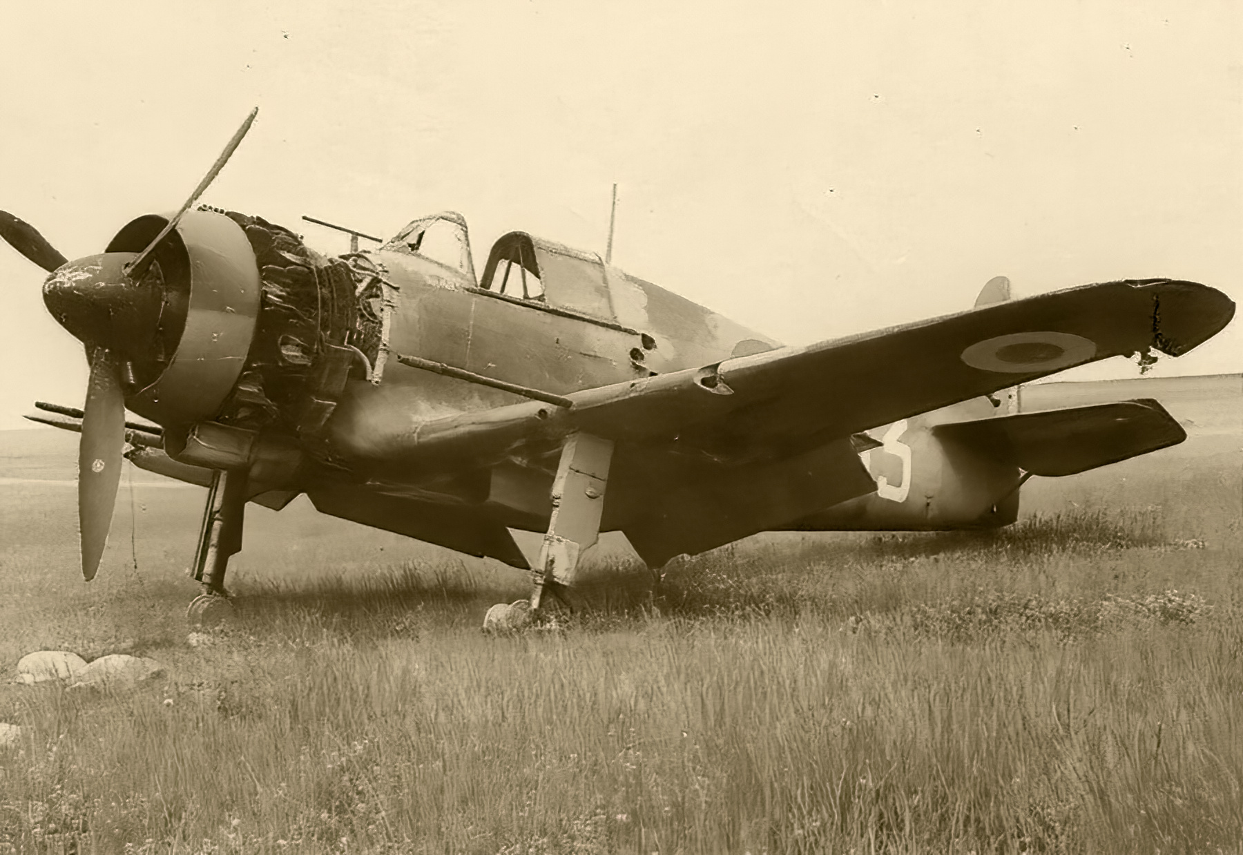 French Airforce Bloch MB 150 destroyed whilst on the ground battle of France May Jun 1940 ebay 01