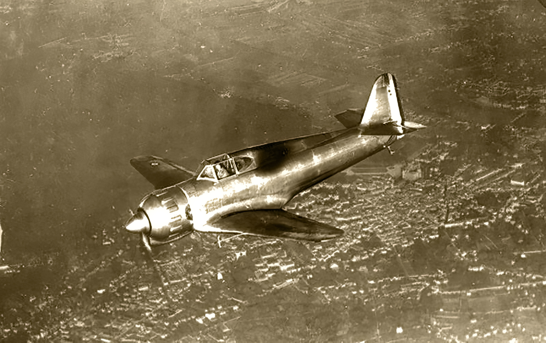 French Airforce Bloch MB 151 prototype powered by a Gnome Rhone 14N 07 France 1939 web 06