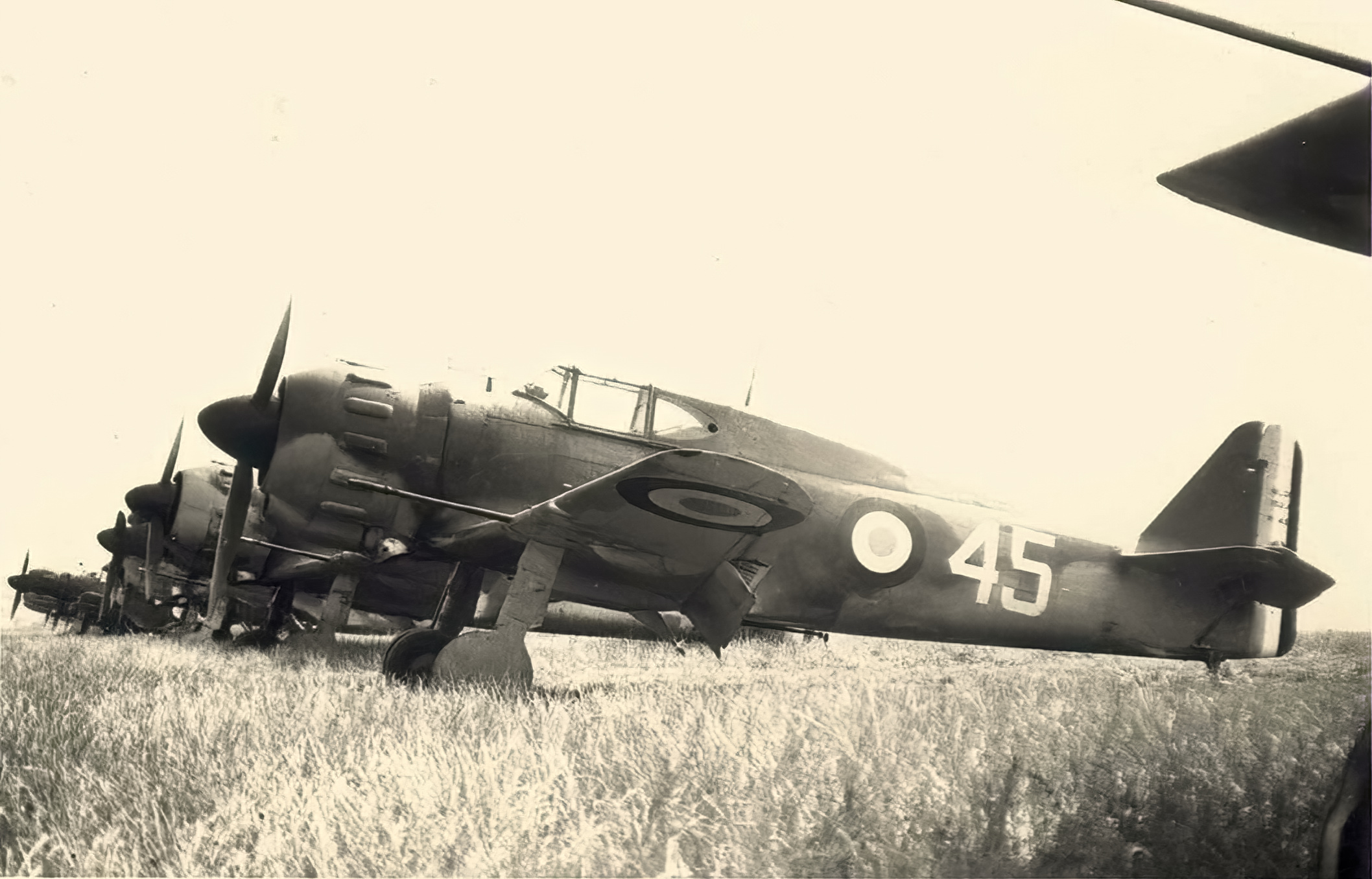 French Airforce Bloch MB 152 White 45 France ebay 01