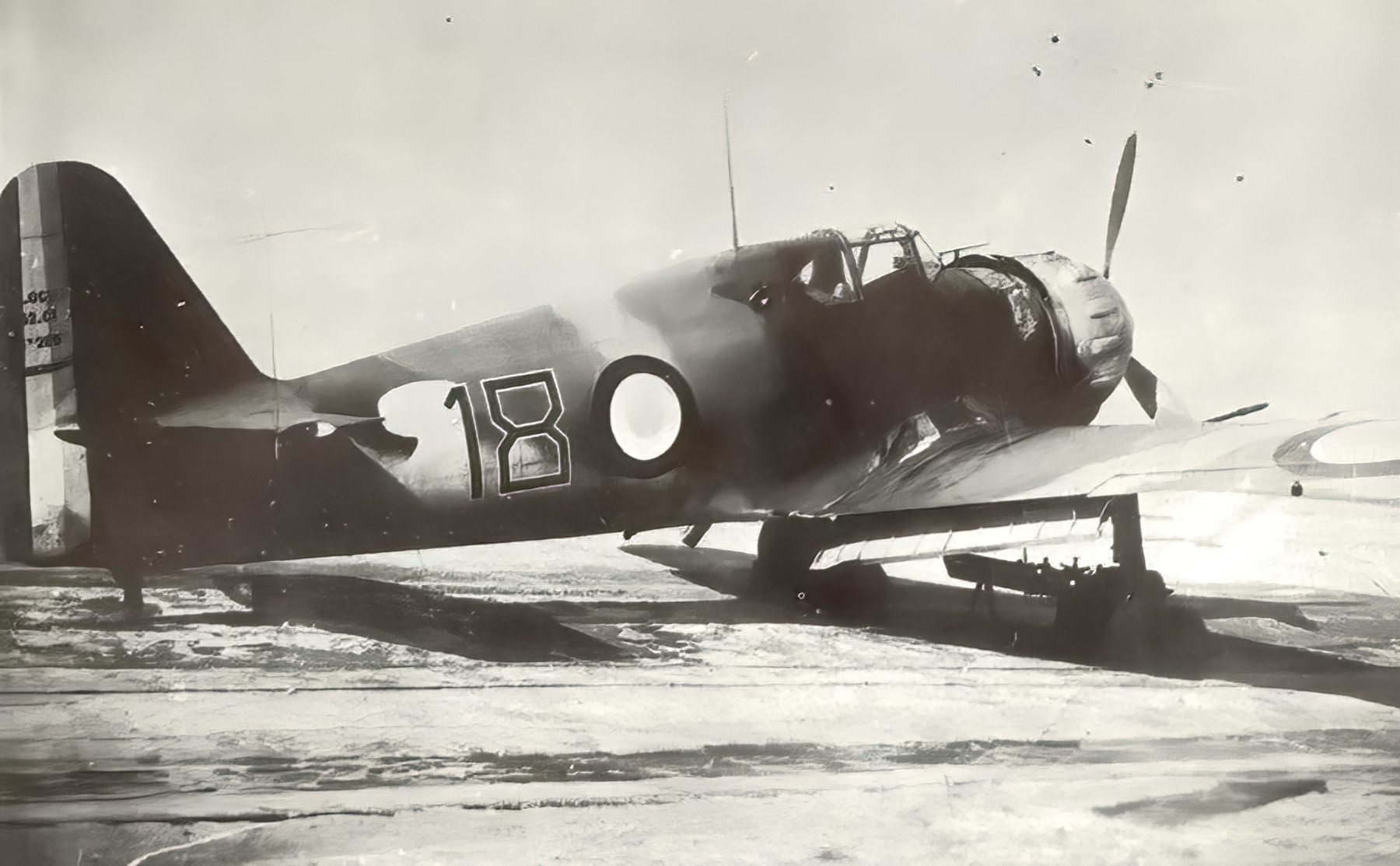French Airforce Bloch MB 152 sn289 GC 1.8 Black 18 France 1940 web 01