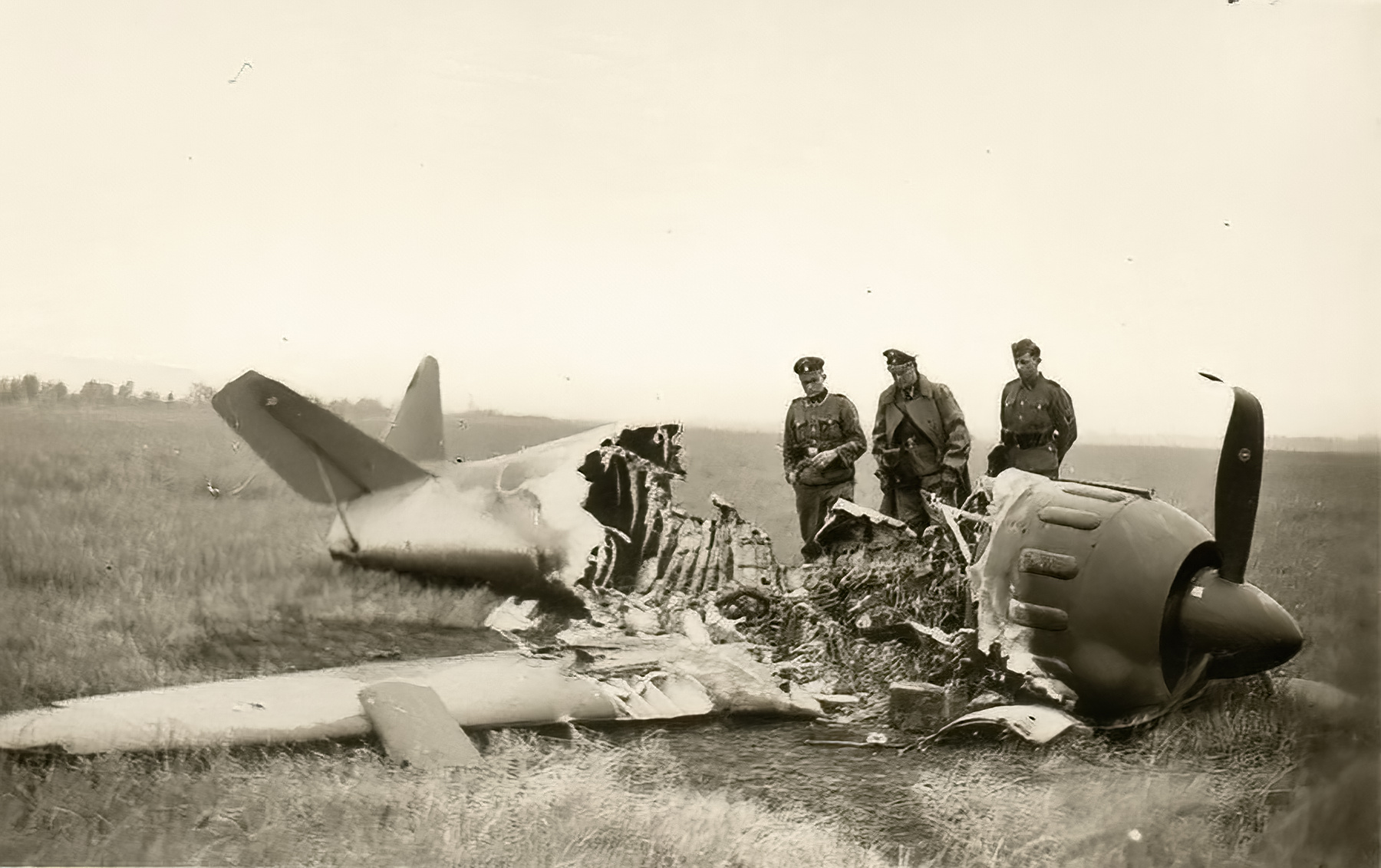 French Airforce Bloch MB 152C1 destroyed after force landing France May Jun 1940 ebay 01
