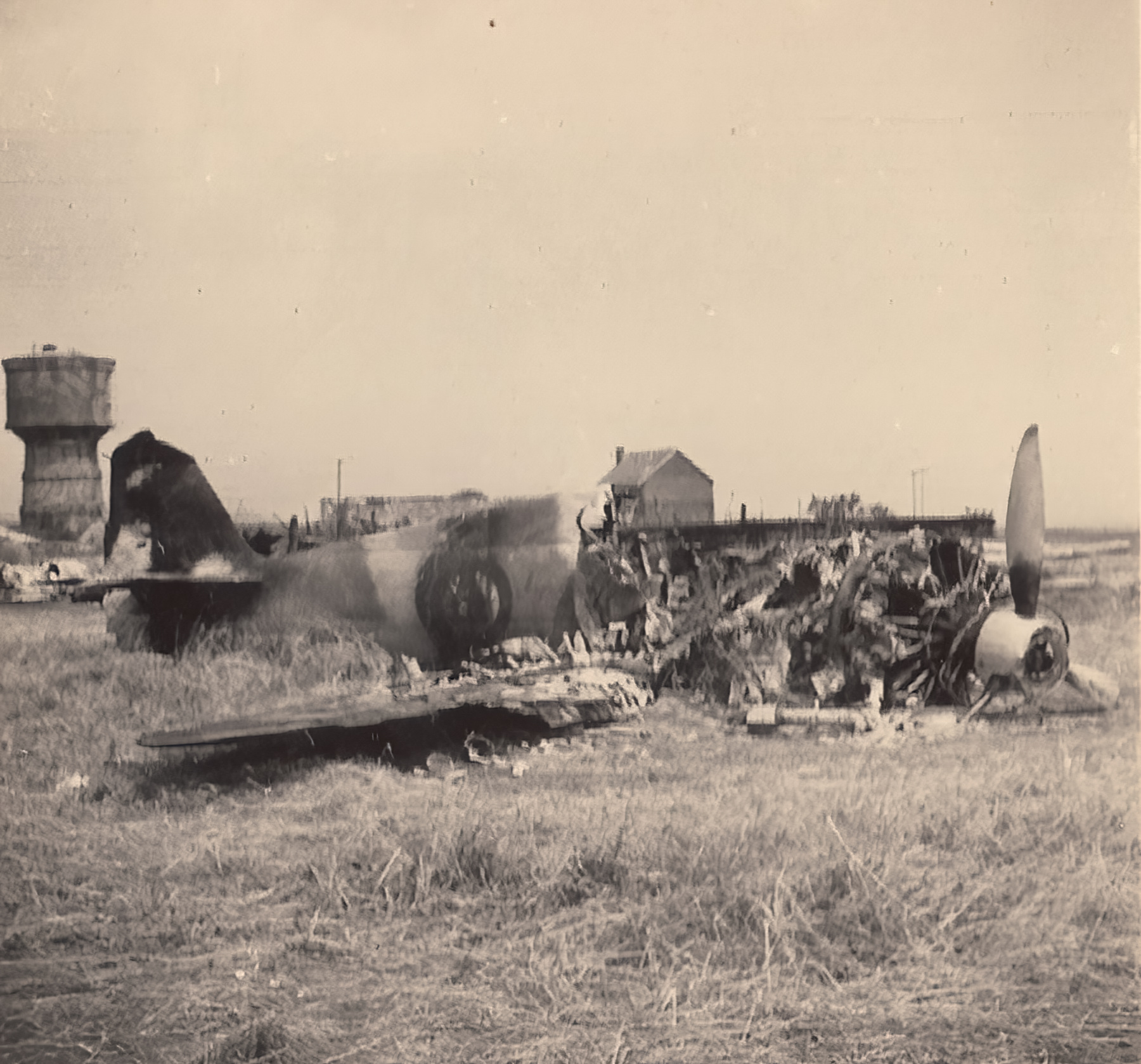 French Airforce Bloch MB 152C1 destroyed after force landing France May Jun 1940 ebay 02