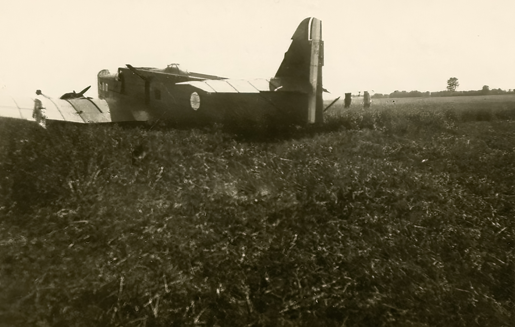 French Airforce Bloch MB 210 abandoned battle of France May Jun 1940 ebay 02