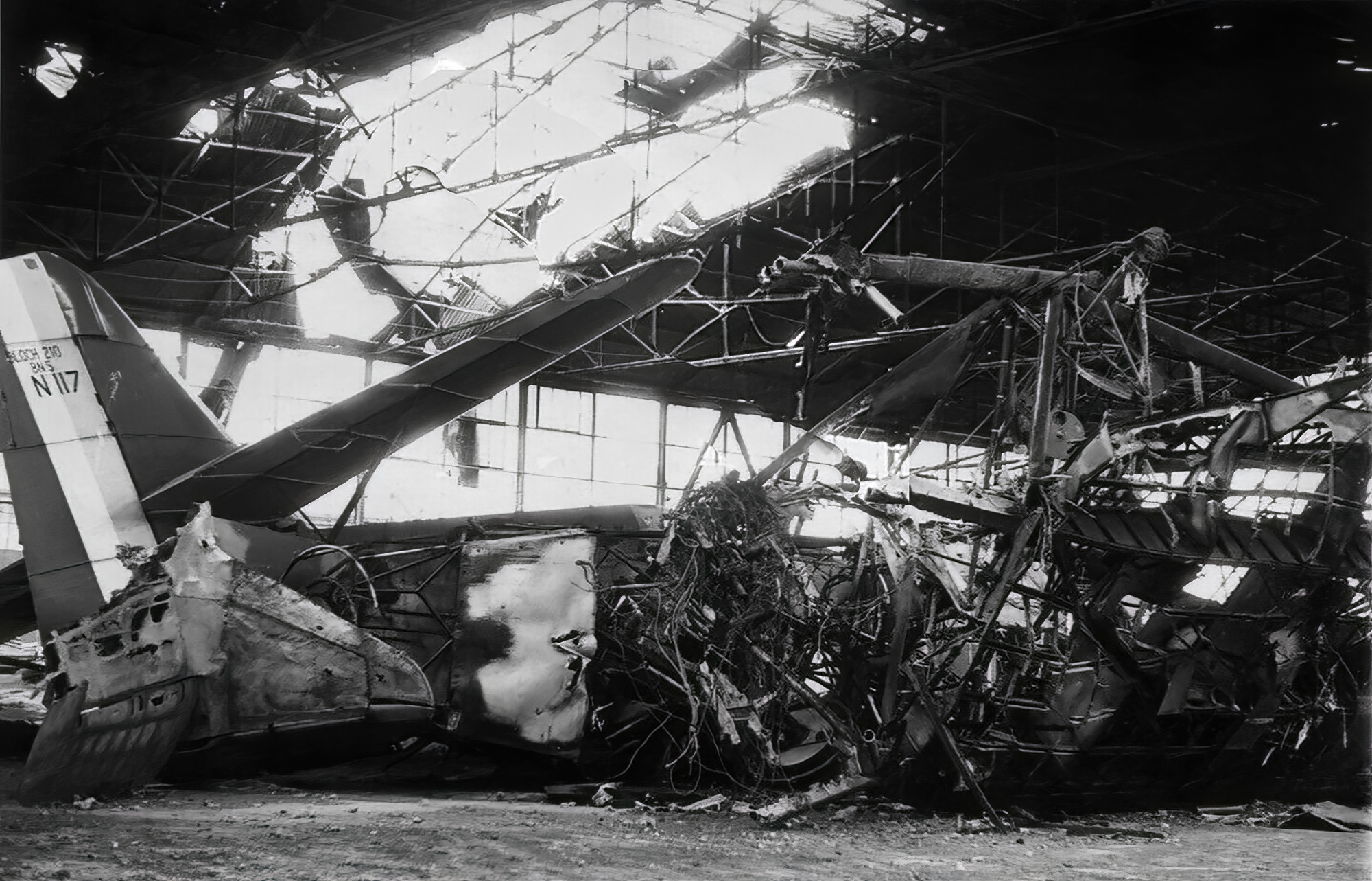 French Airforce Bloch MB 210 destroyed by a Luftwaffe raid France May 1940 ebay 01