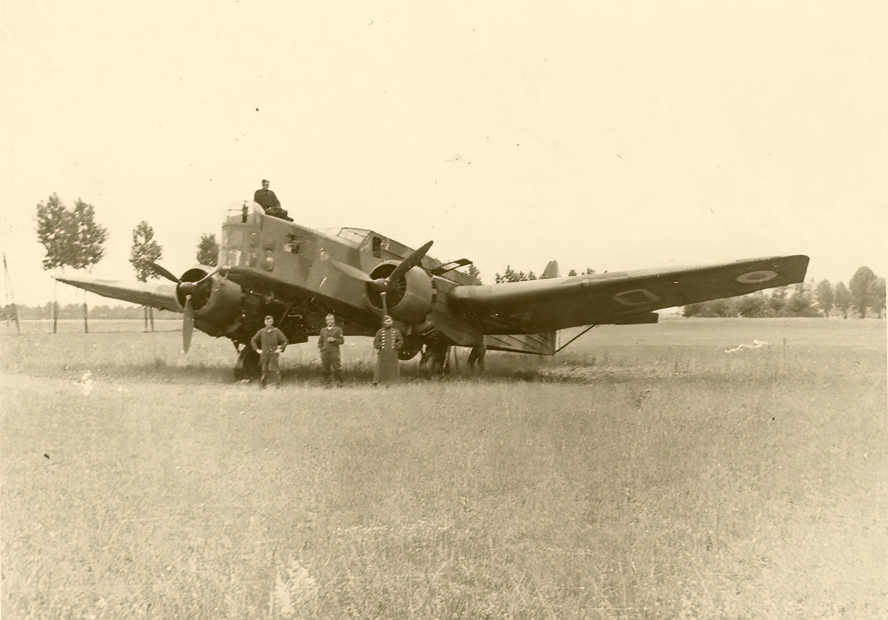 French Airforce Bloch MB 210 stands intact after the fall of France Jun 1940 ebay 01