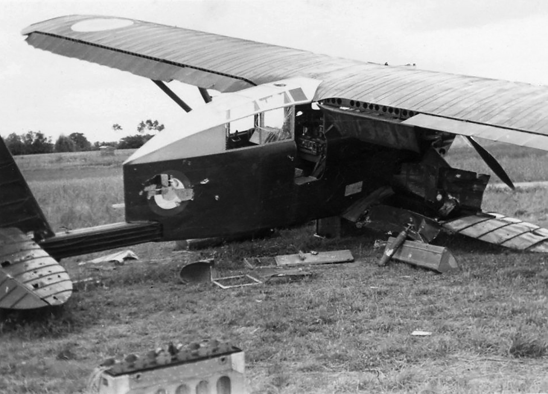French Airforce Breguet 270 destroyed whilst on the ground battle of France May Jun 1940 ebay 04