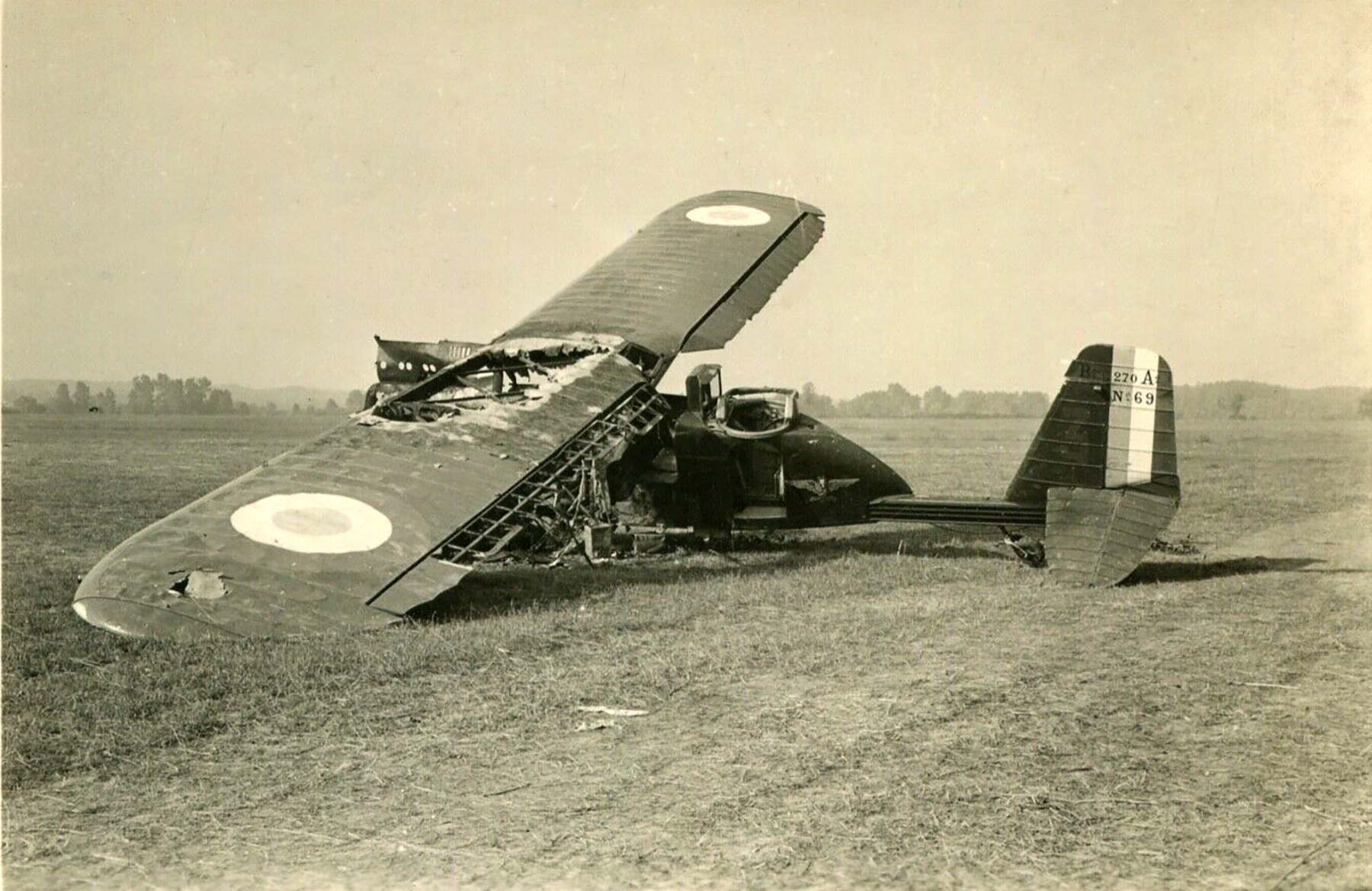 French Airforce Breguet 270 destroyed whilst on the ground battle of France May Jun 1940 ebay 05