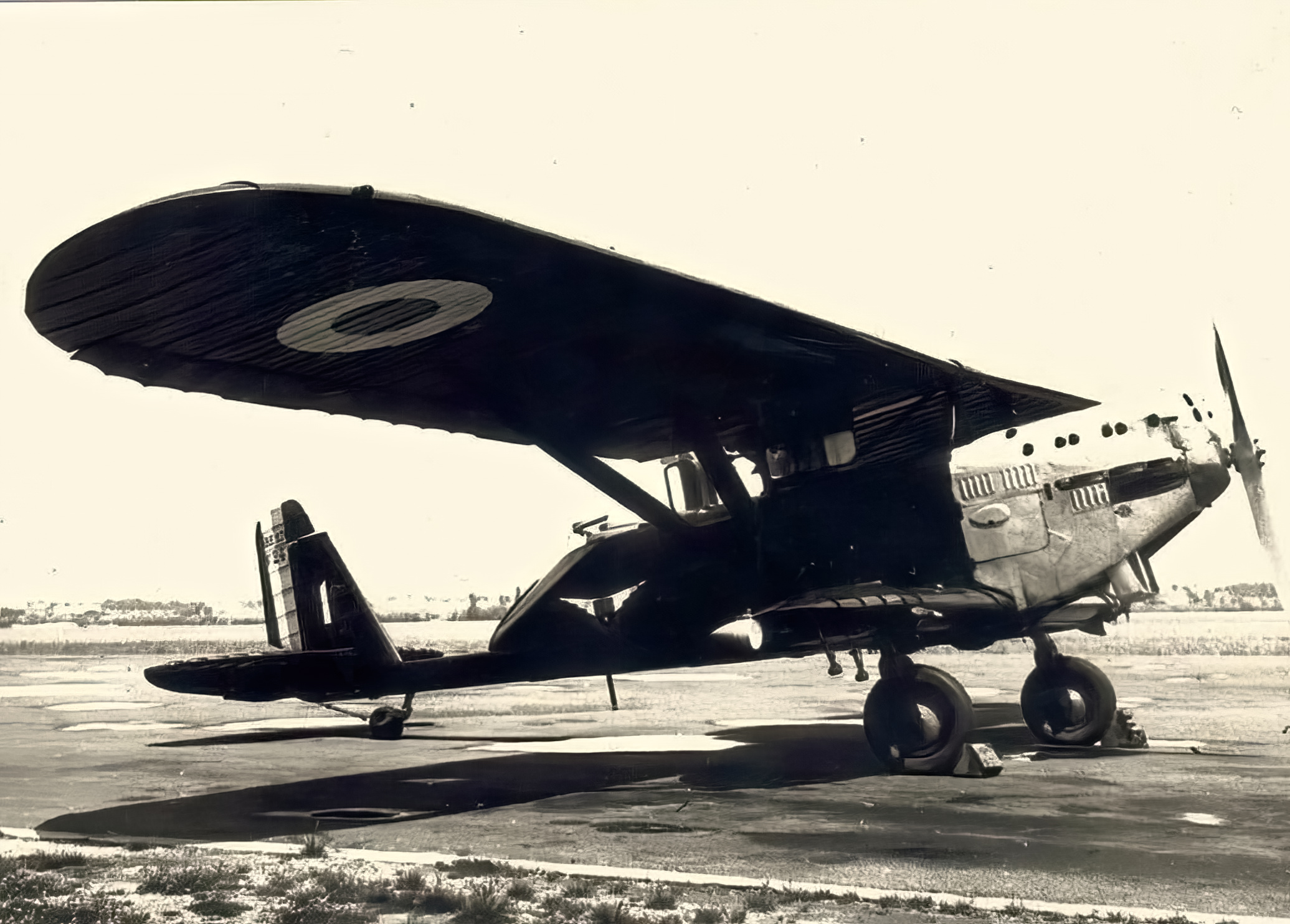 French Airforce Breguet 270 sn24 at its base in France 1940 ebay 01