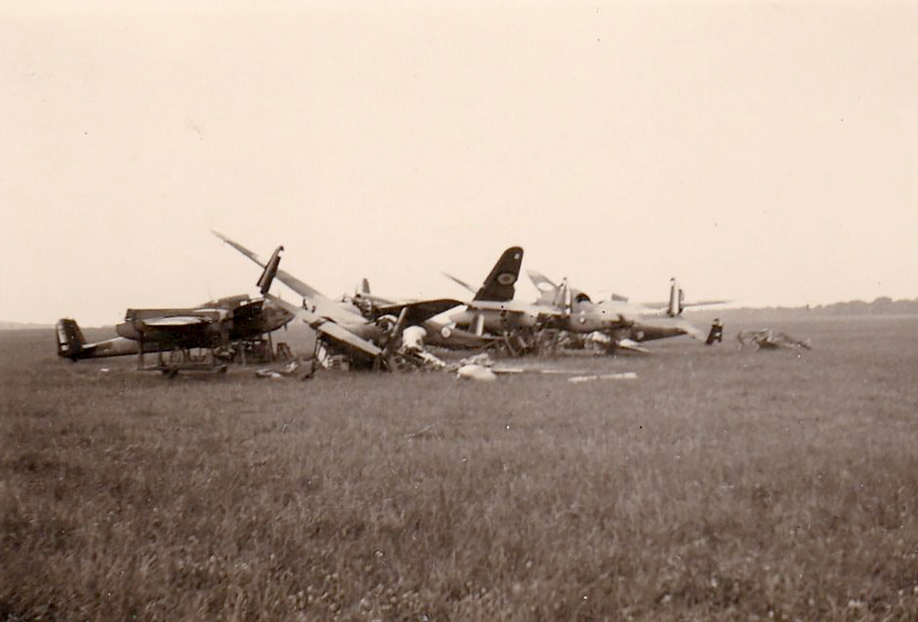 French Airforce Breguet Bre 691 await scrapping after the fall of France Jun 1940 ebay 01