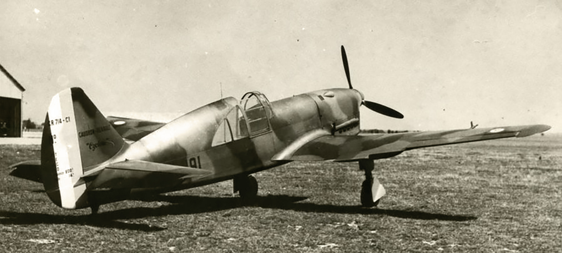 French Airforce Caudron CR 714C1 Cyclone sn8533 coded I 191 France 1940 web 02