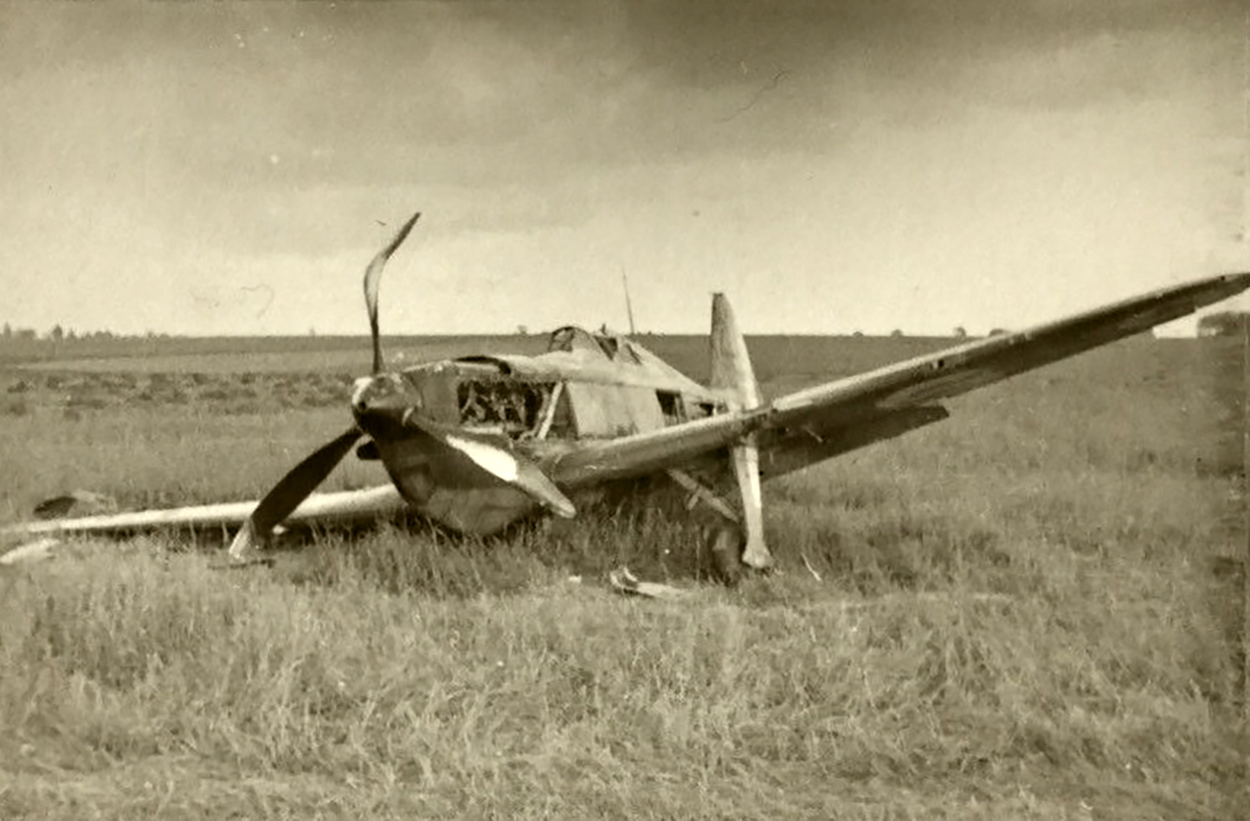 French Airforce Dewoitine D 520 force landed battle of France May 1940 ebay 02