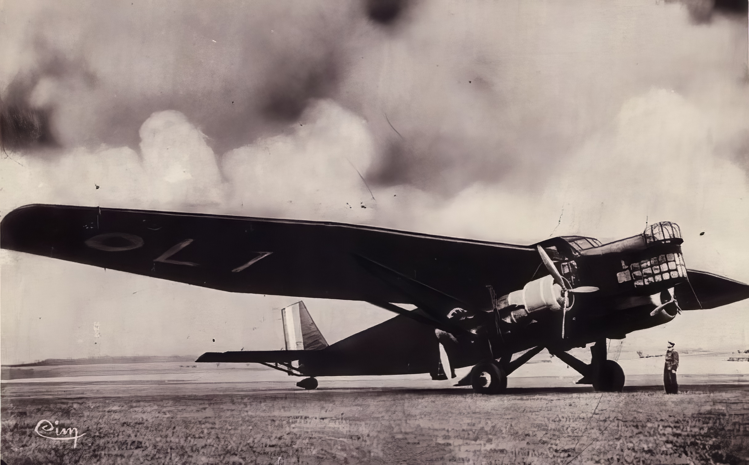 French Airforce Farman F222 newly delivered France ebay 01