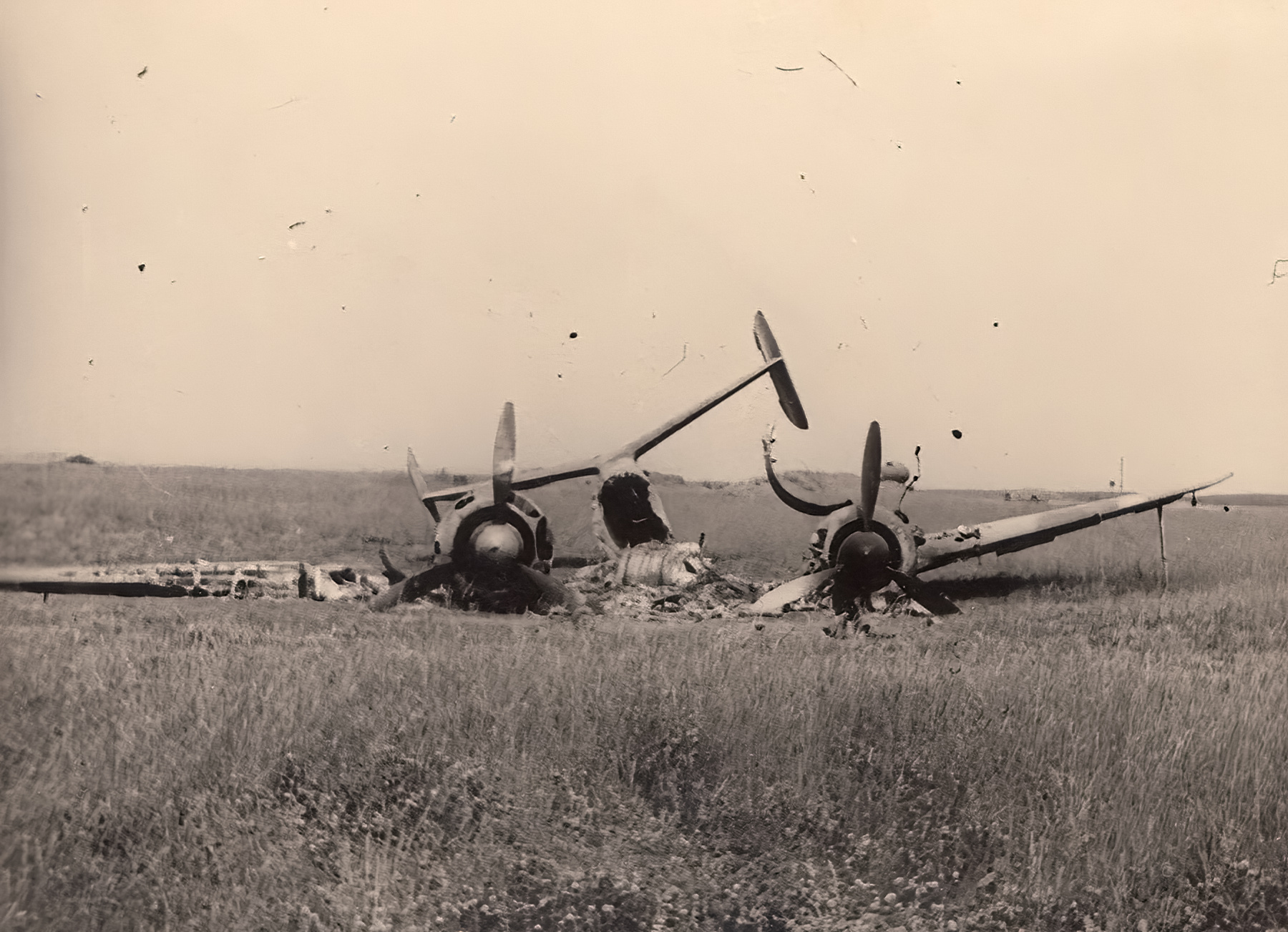French Airforce Liore et Olivier LeO 451 destroyed whilst on the ground battle of France May Jun 1940 ebay 01