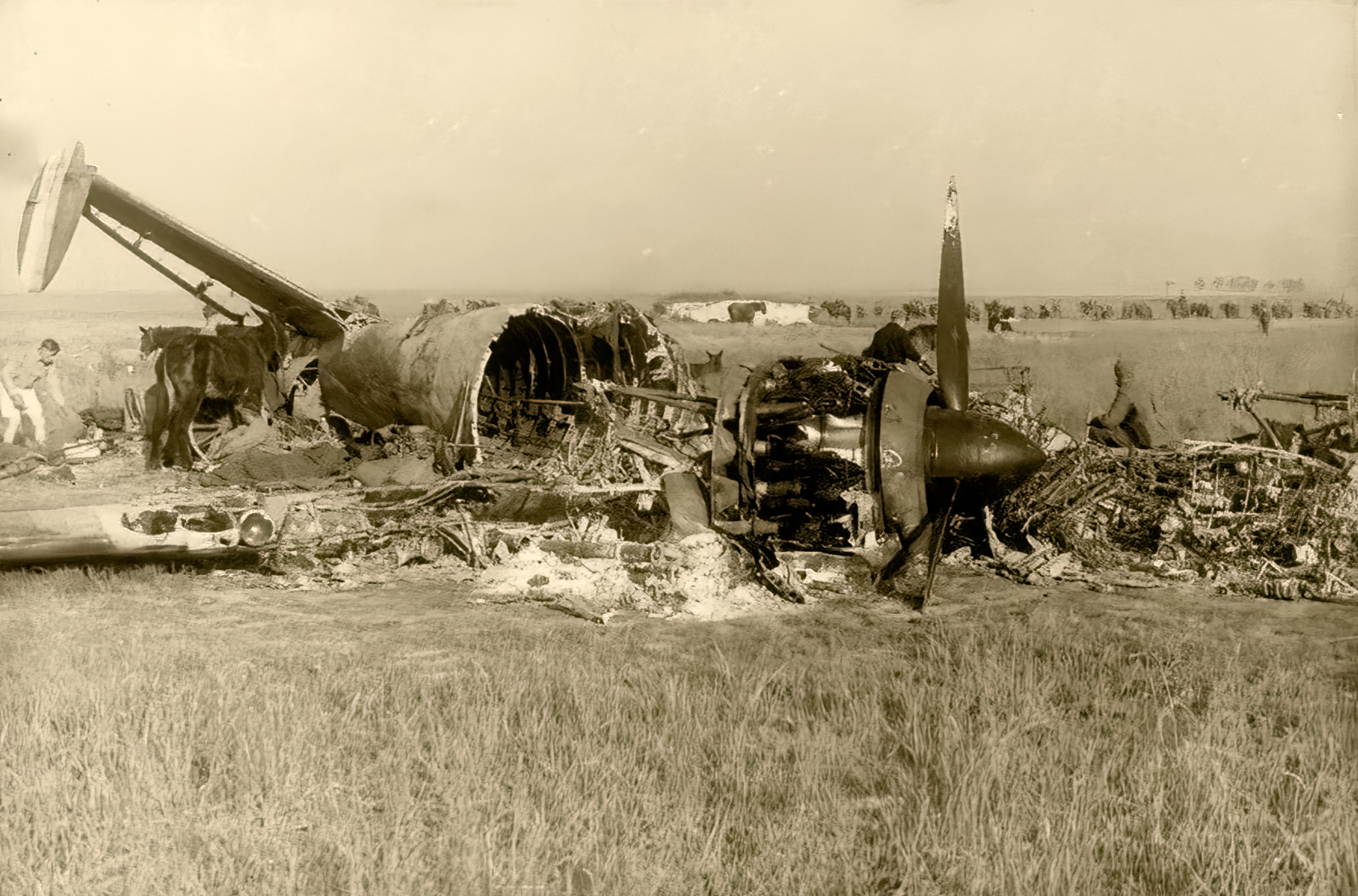 French Airforce Liore et Olivier LeO 451 destroyed whilst on the ground battle of France May Jun 1940 ebay 02