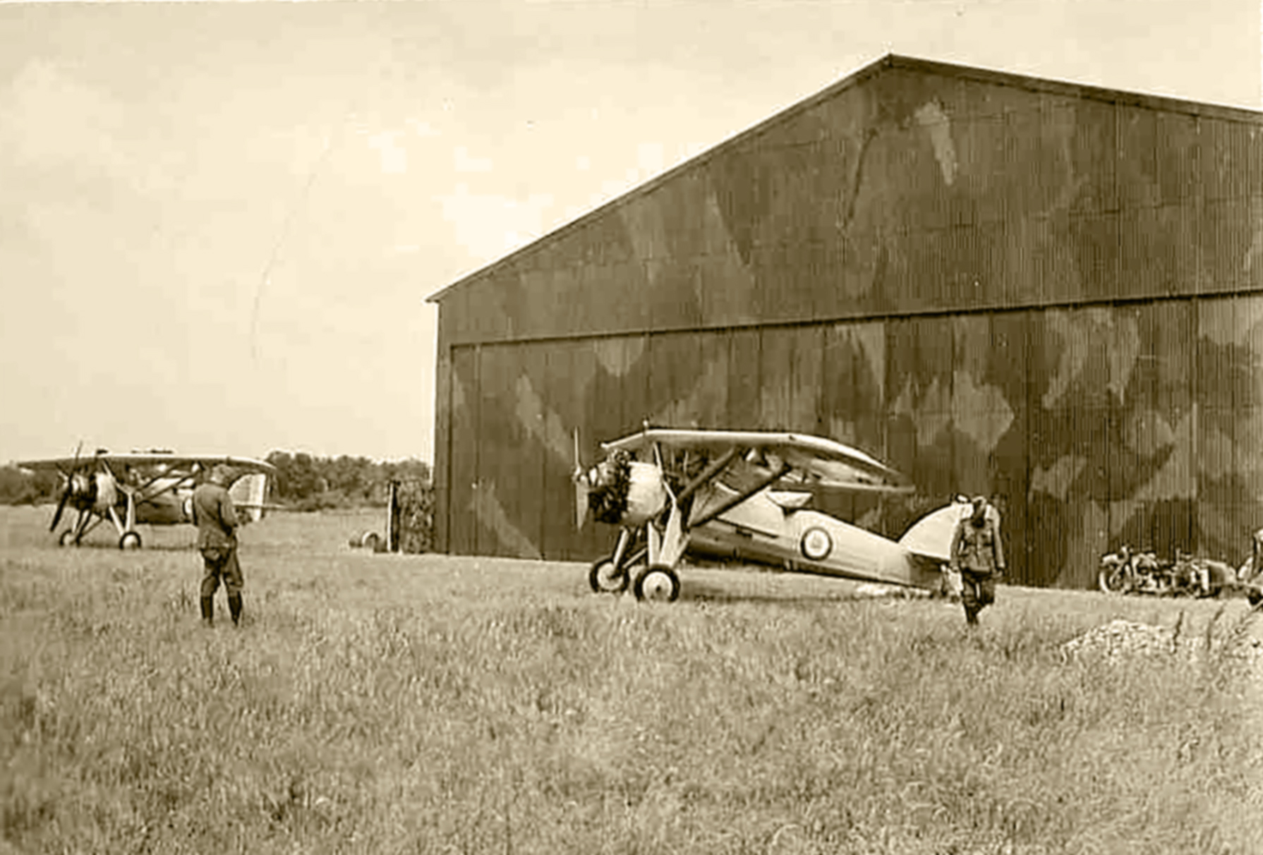 French Airforce Morane Saulnier MS 230 captured intact by German ground forces France May Jun 1940 01