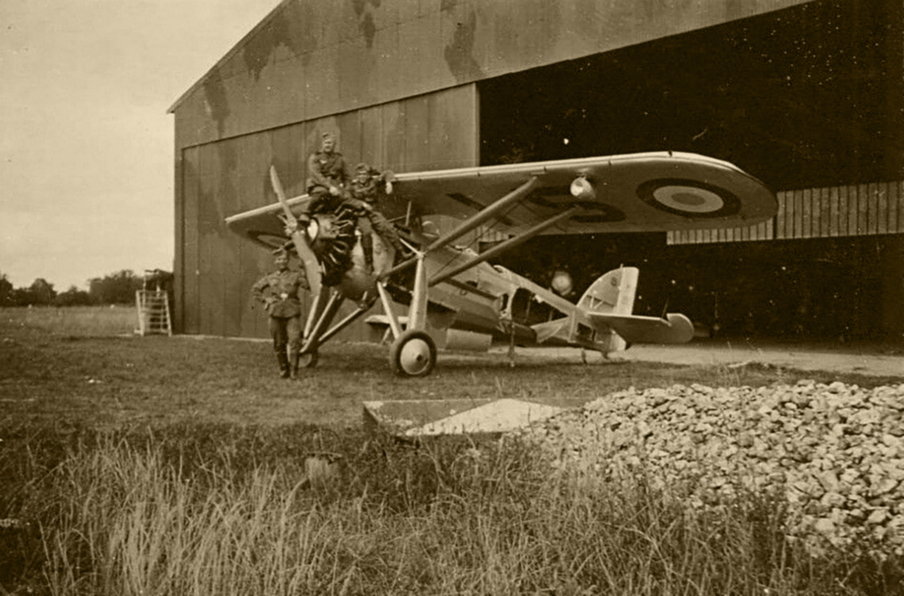 French Airforce Morane Saulnier MS 230 disabled by retreating French forces France May Jun 1940 01