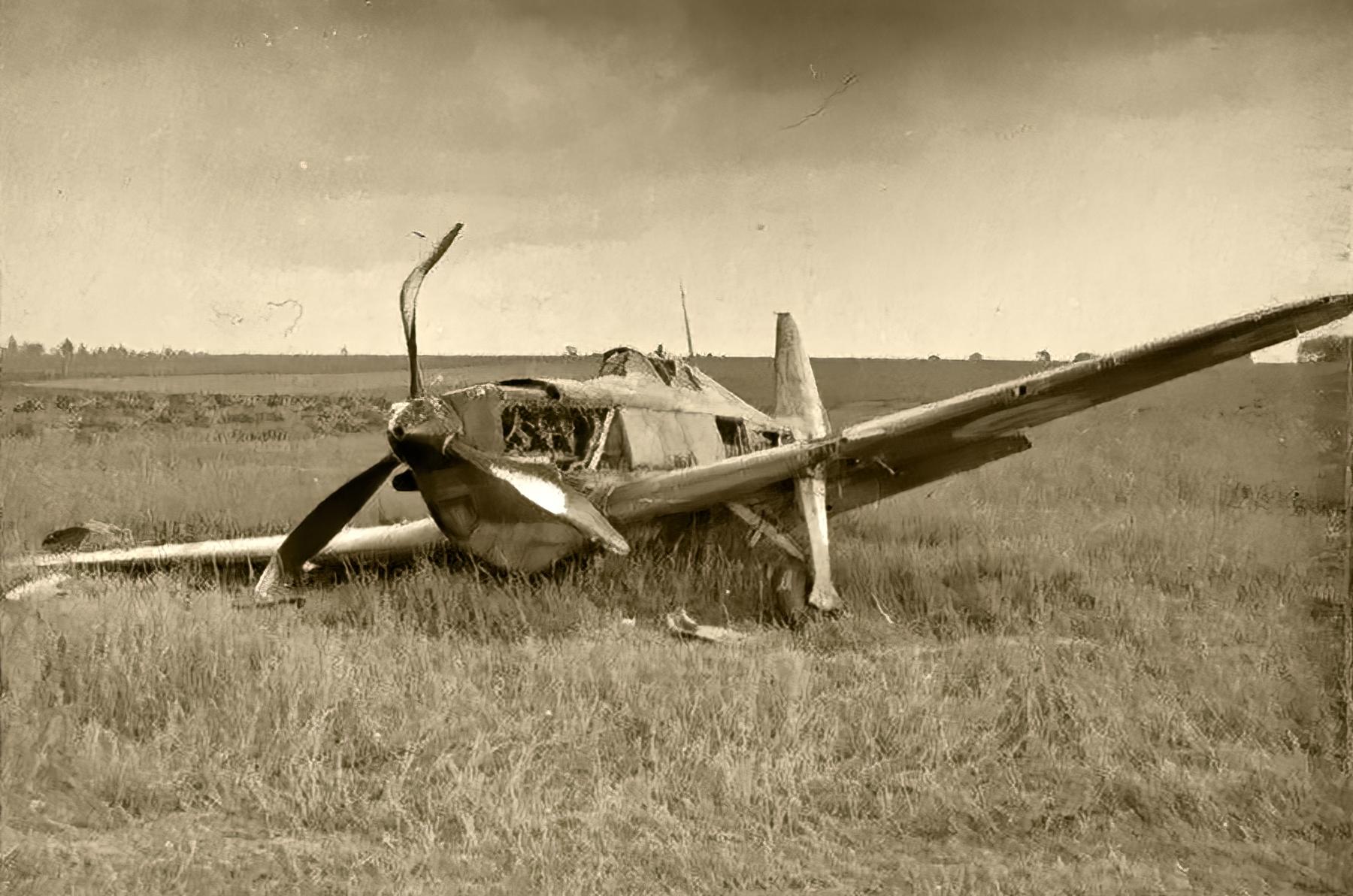 French Airforce Morane Saulnier MS 406 force landed France May Jun 1940 ebay 01