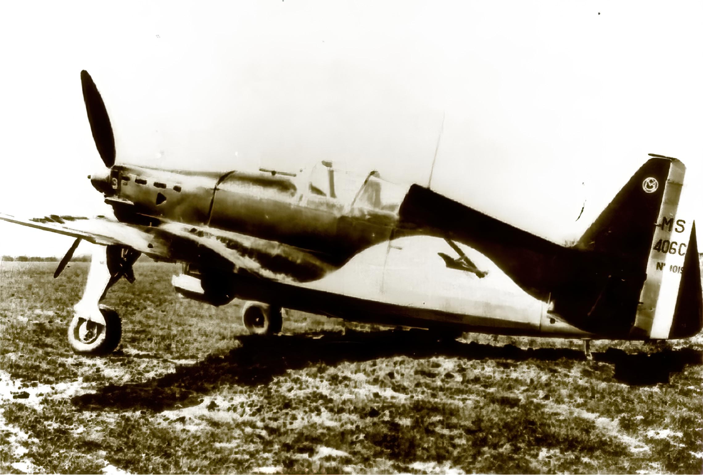 French Airforce Morane Saulnier MS 406C sn1019 mission ready France May Jun 1940 ebay 01