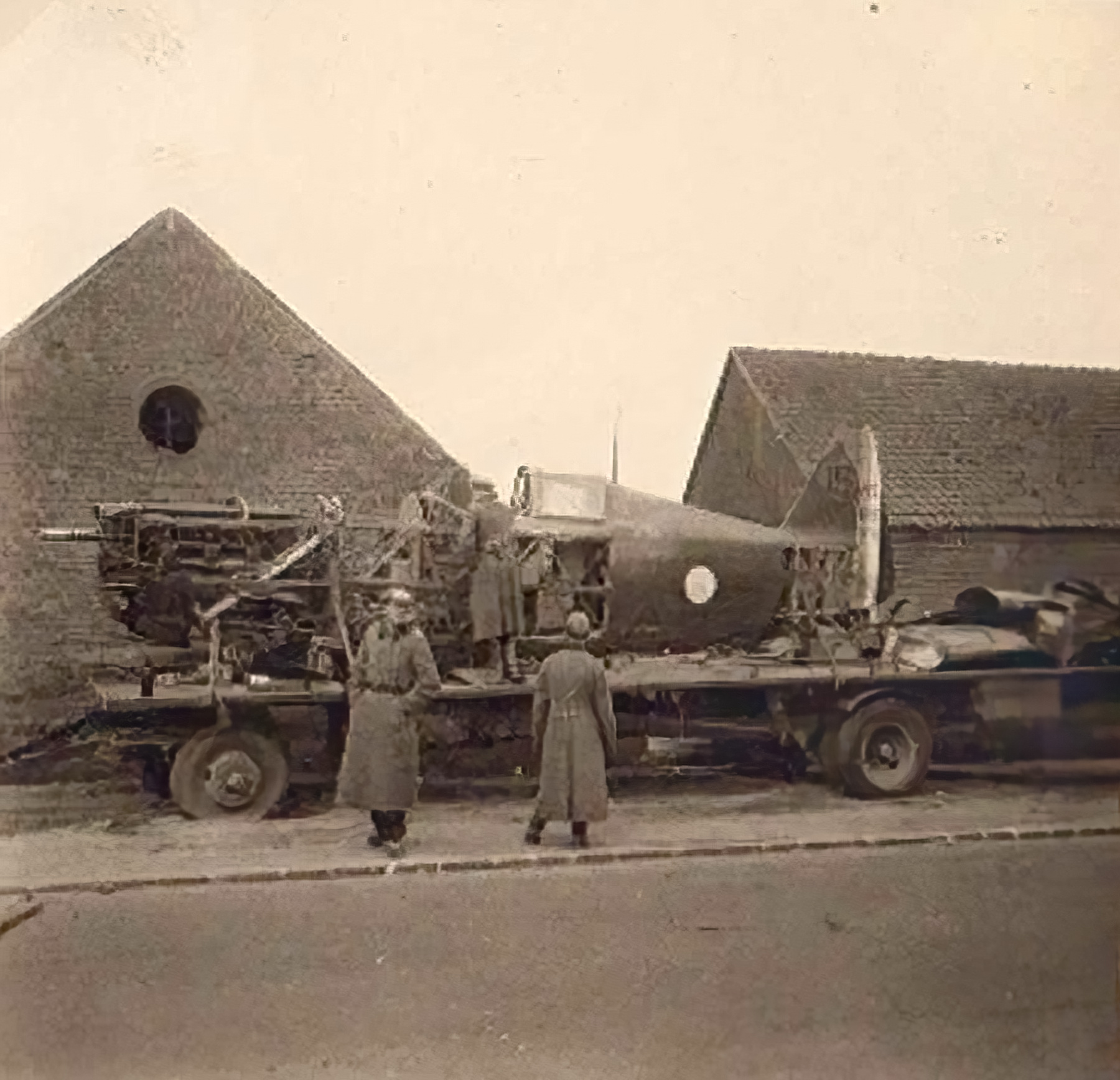 French Airforce Morane Saulnier MS 406C1 Blue 15 captured by German ground forces France May Jun 1940 01