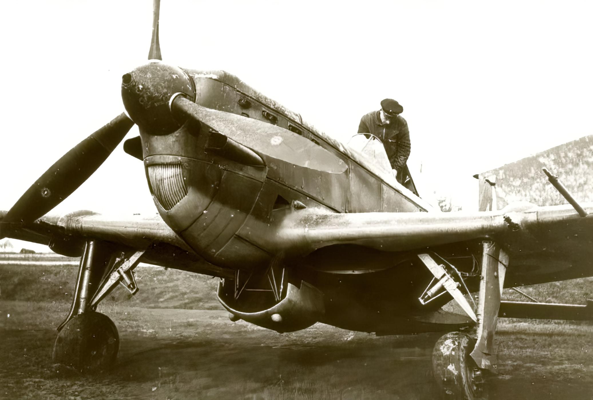 French Airforce Morane Saulnier MS 406C1 France 1940 ebay 01