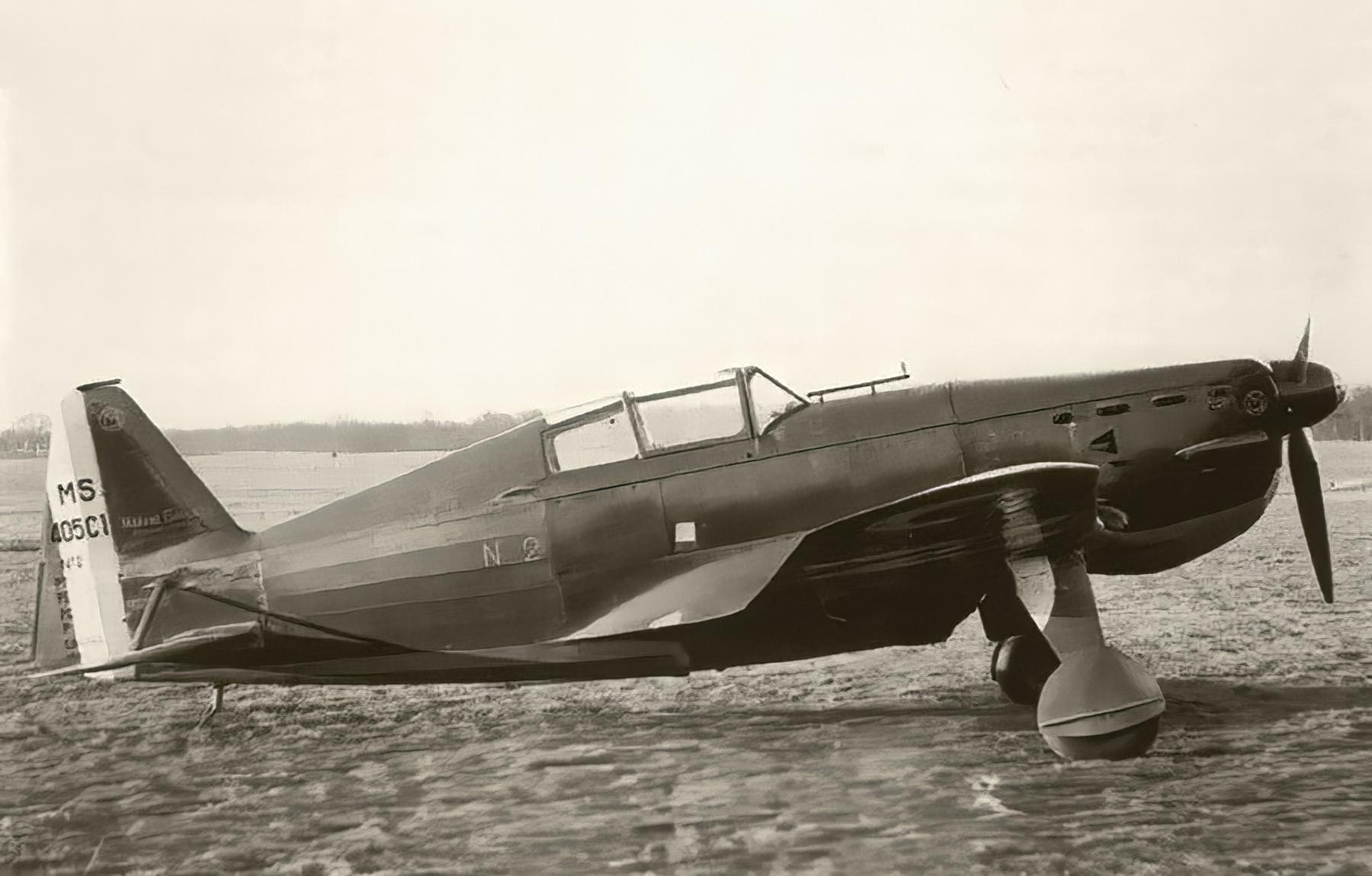 French Airforce Morane Saulnier MS 406C1 sn2 France 1940 web 01