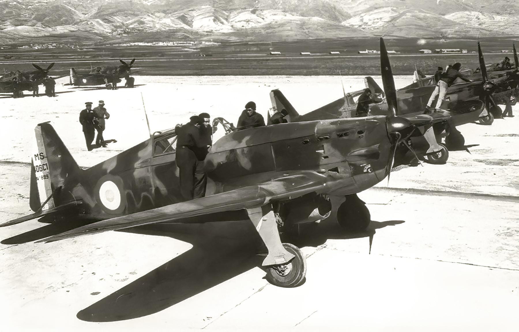French Airforce Morane Saulnier MS 406C1 sn699 France 1940 web 01