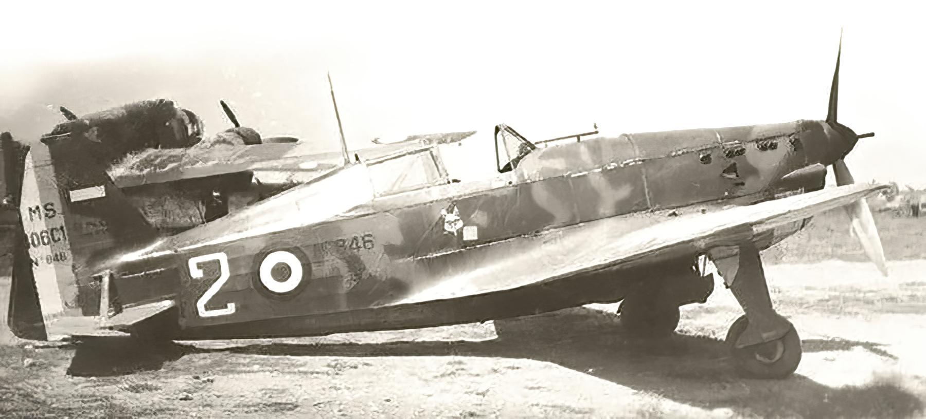French Airforce Morane Saulnier MS 406C1 sn846 GC III.1 White 2 France 1940 web 01