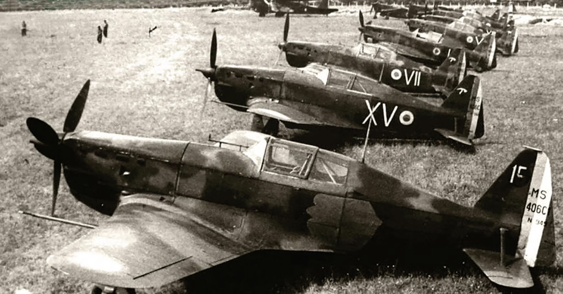 French Airforce Morane Saulnier MS 406C1 sn949 GC I.2 White 15 France 1940 web 01