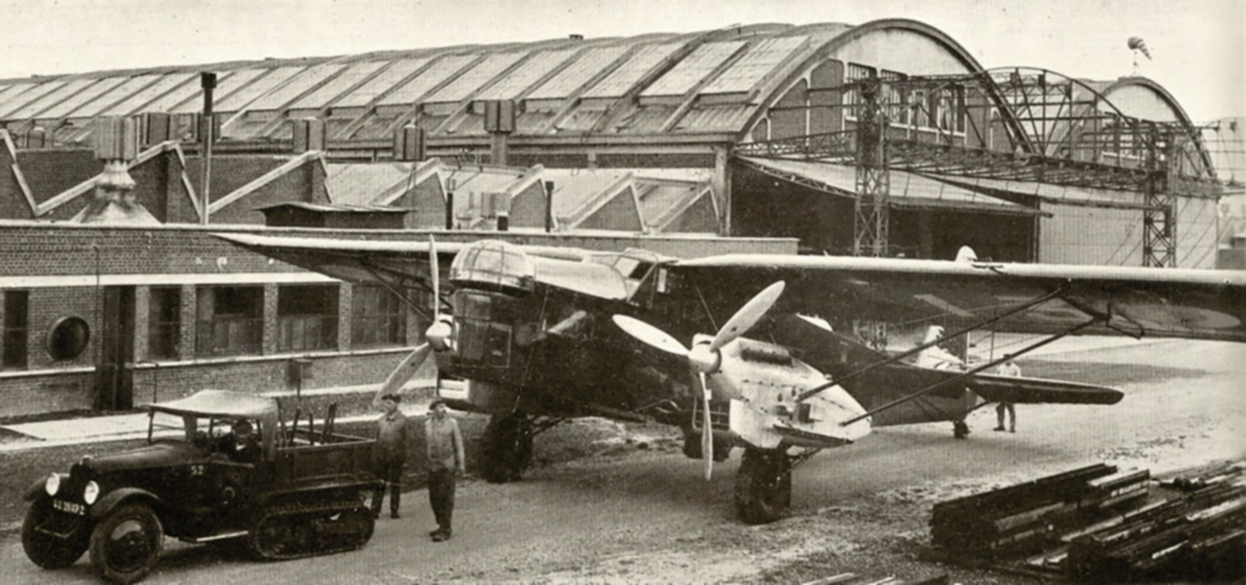 French Airforce Potez 540 at a French airbase France 1940 ebay 02