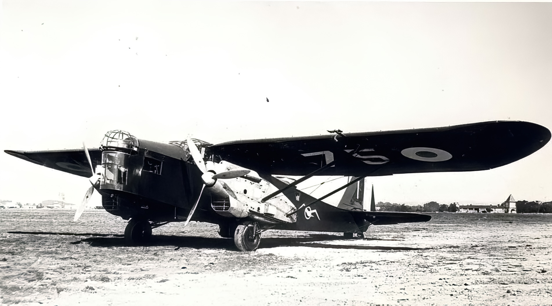 French Airforce Potez 540 at a French airbase France ebay 01