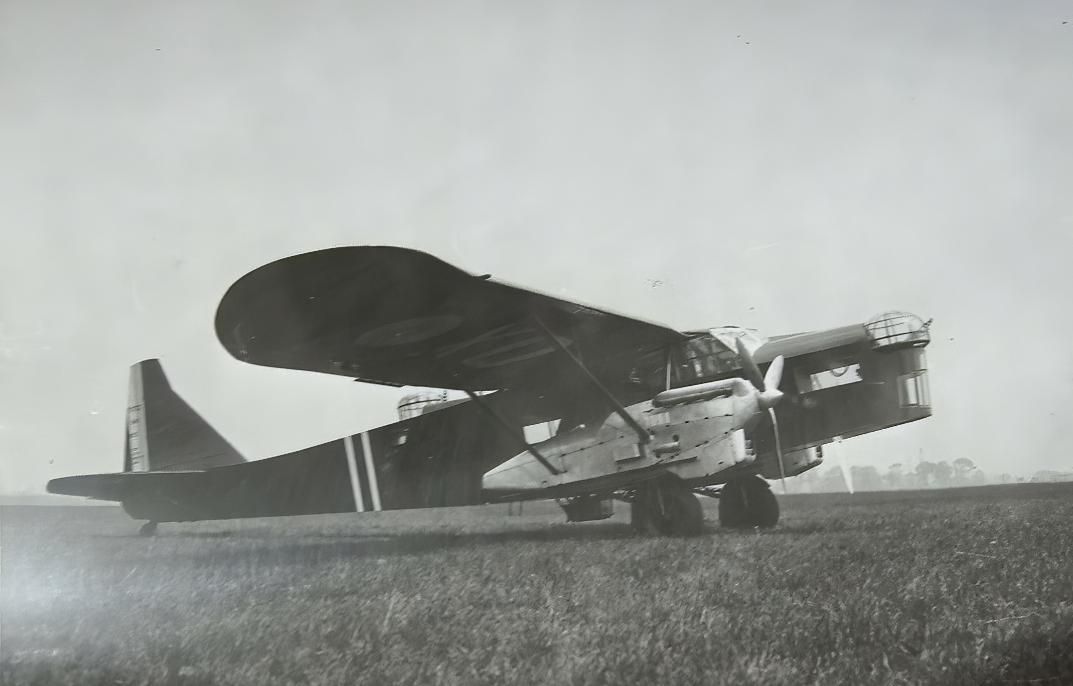 French Airforce Potez 540 at a French airbase France ebay 02