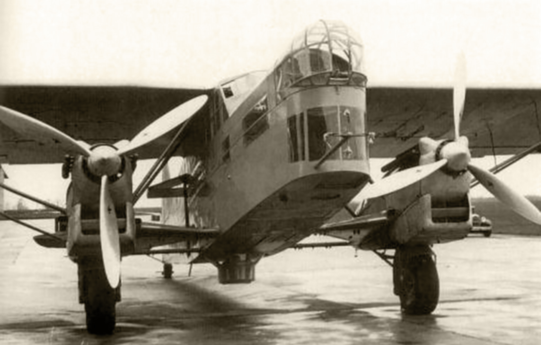 French Airforce Potez 540 at a dispersal area France ebay 01