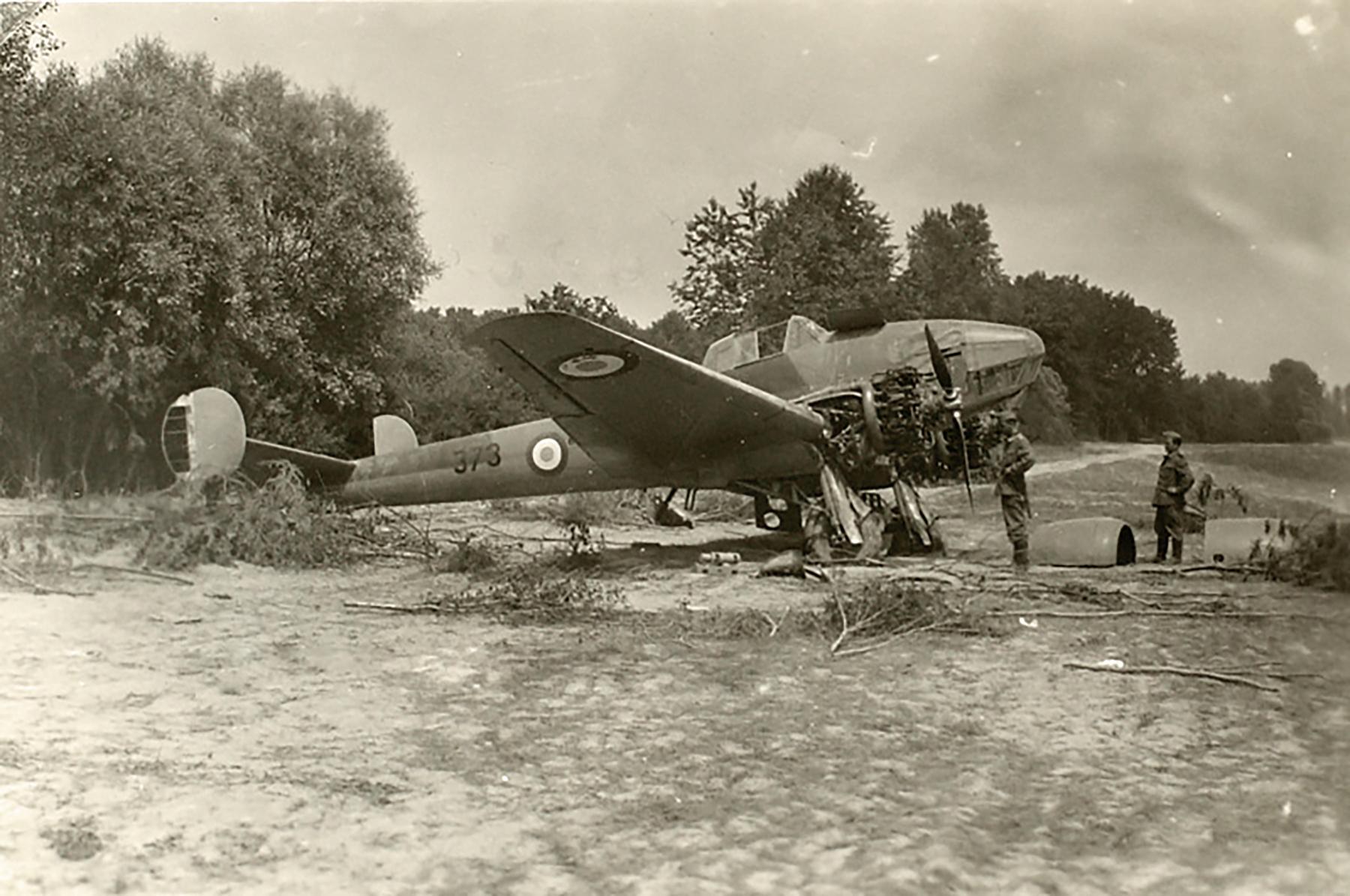 French Airforce Potez 63.11 Black 373 captured during the battle of France 1940 ebay 01
