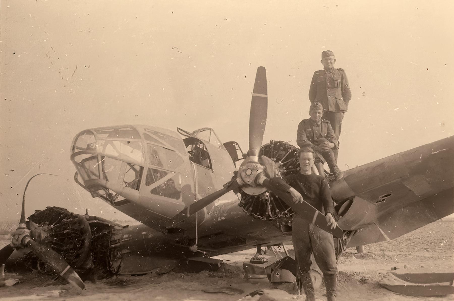 French Airforce Potez 63.11 captured battle of France 1940 ebay 01