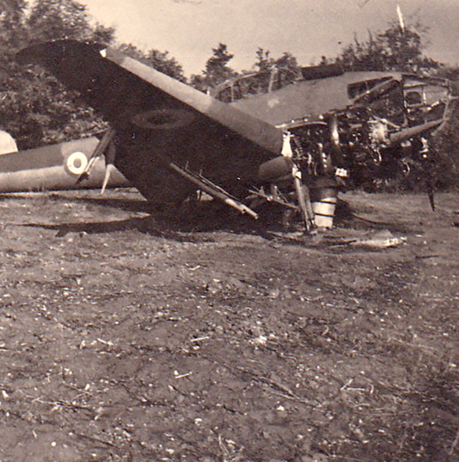 French Airforce Potez 63.11 captured during the battle of France 1940 ebay 02