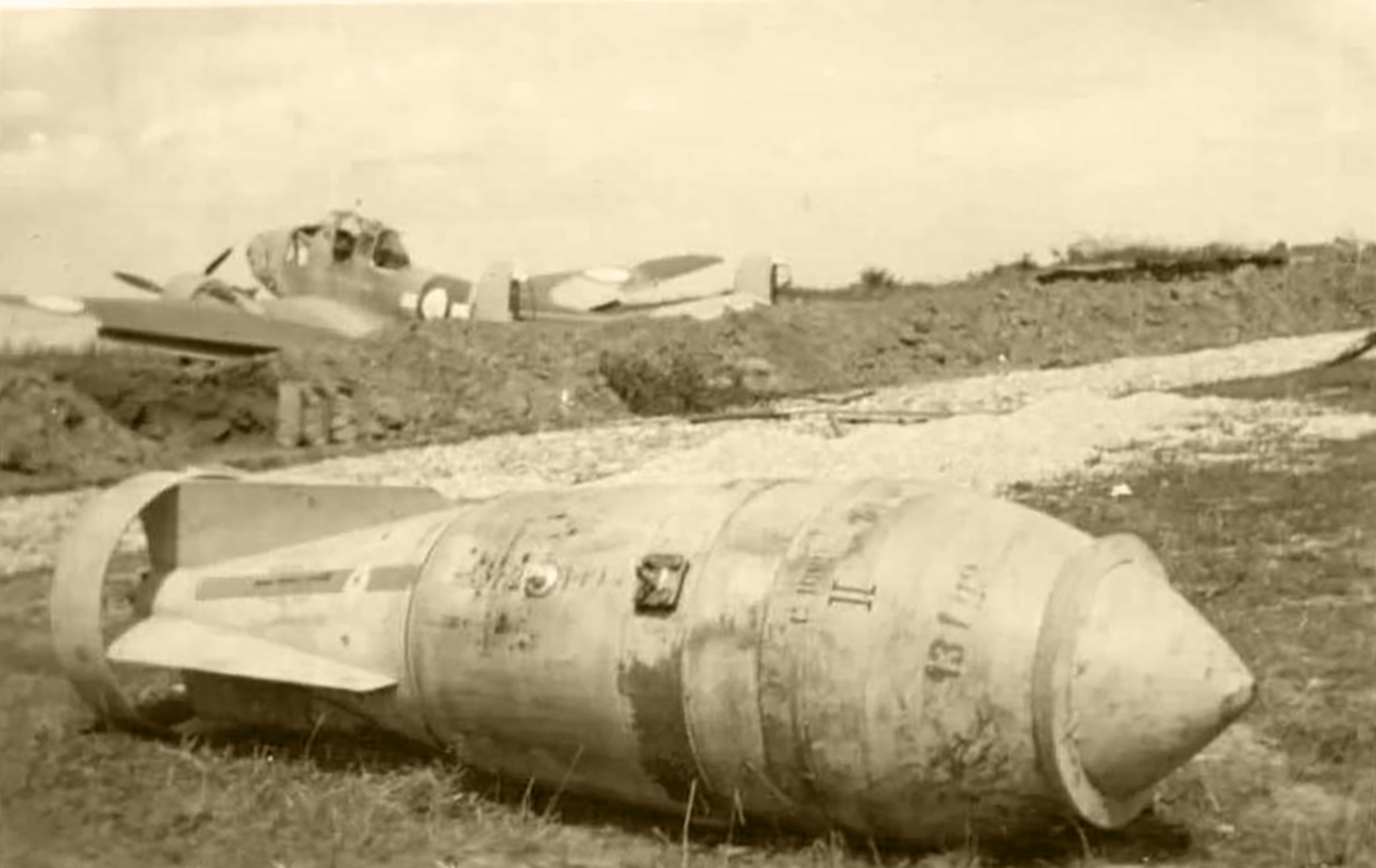 French Airforce Potez 63.11 sits abandoned on a captured French airfield France May jun 1940 01